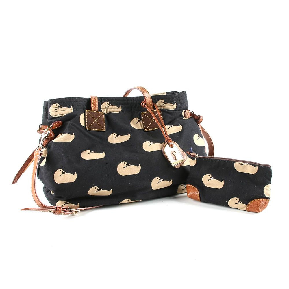 Dooney & Bourke Canvas Tote and Change Purse