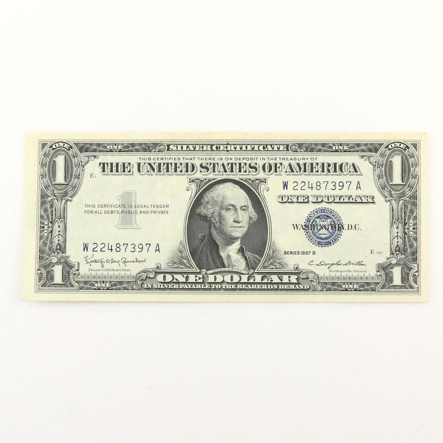 Series of 1957B $1 Silver Certificate : EBTH