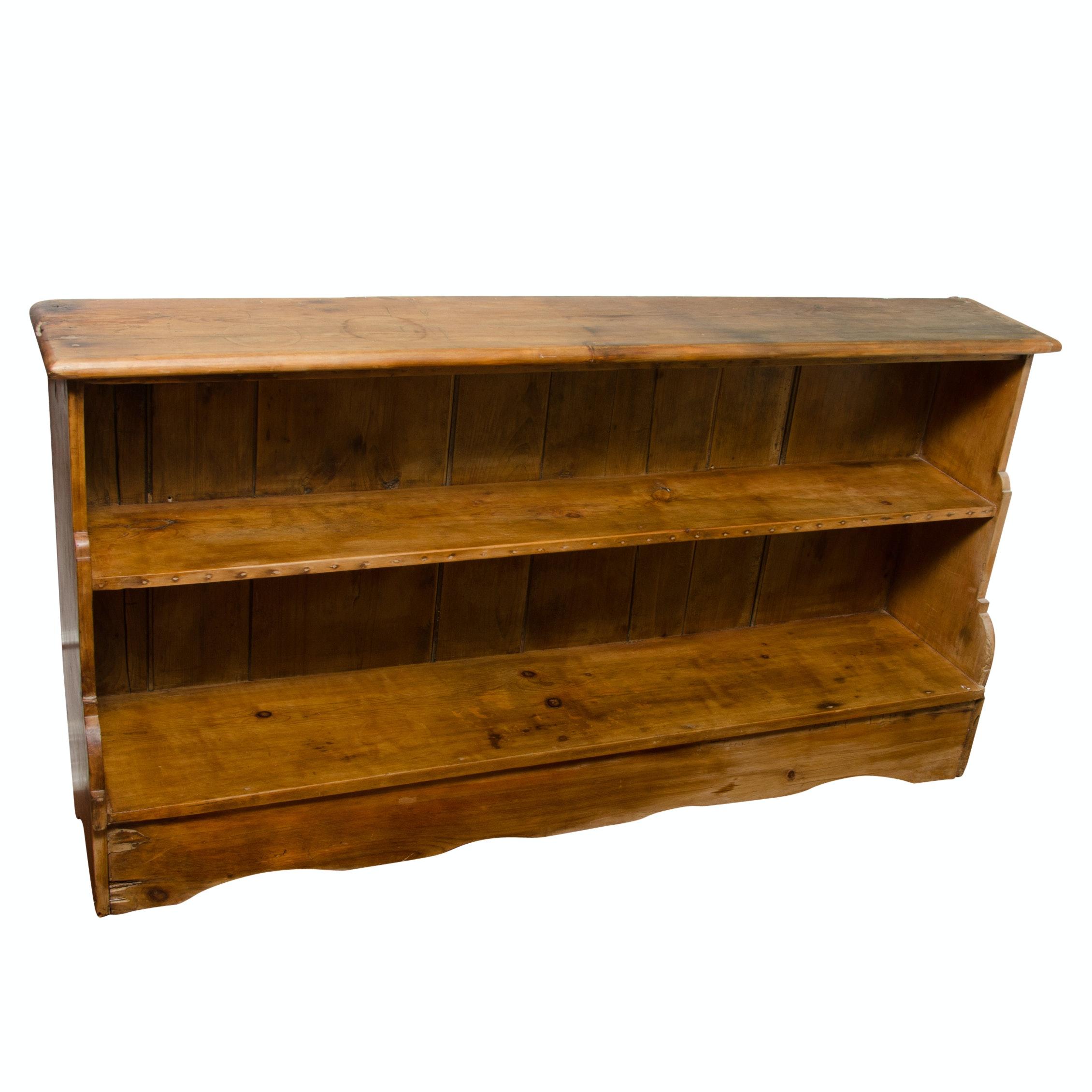 Vintage Pine Shelving Unit