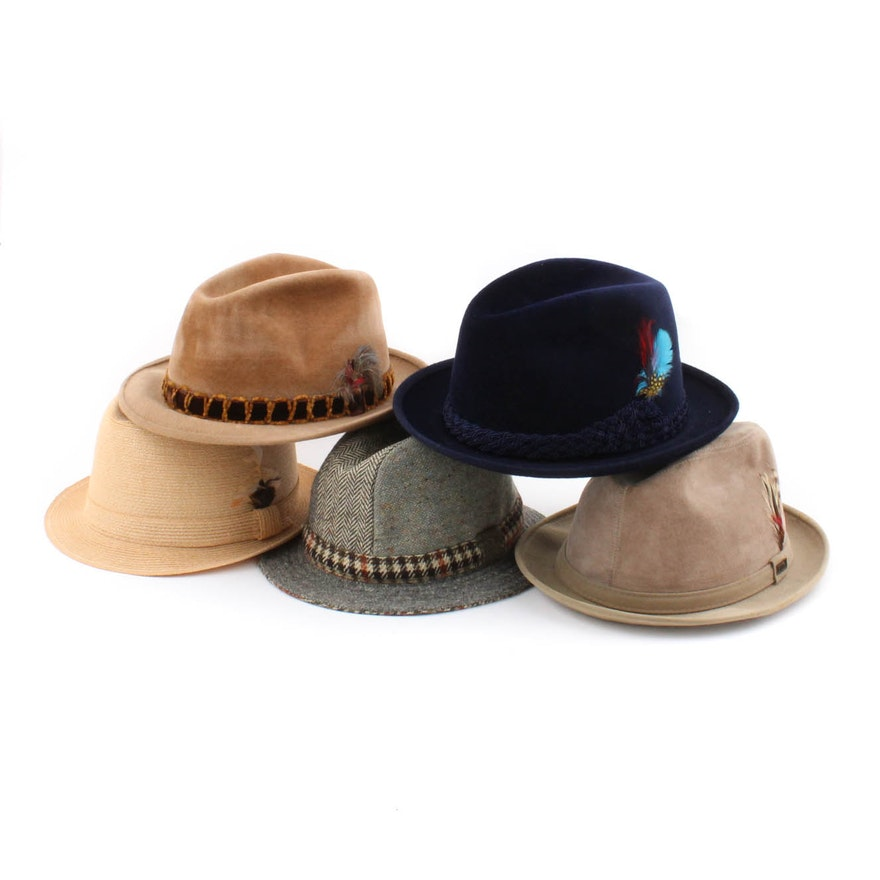 07e3ab064f037 Men s Vintage Fedoras Featuring Stetson and More   EBTH