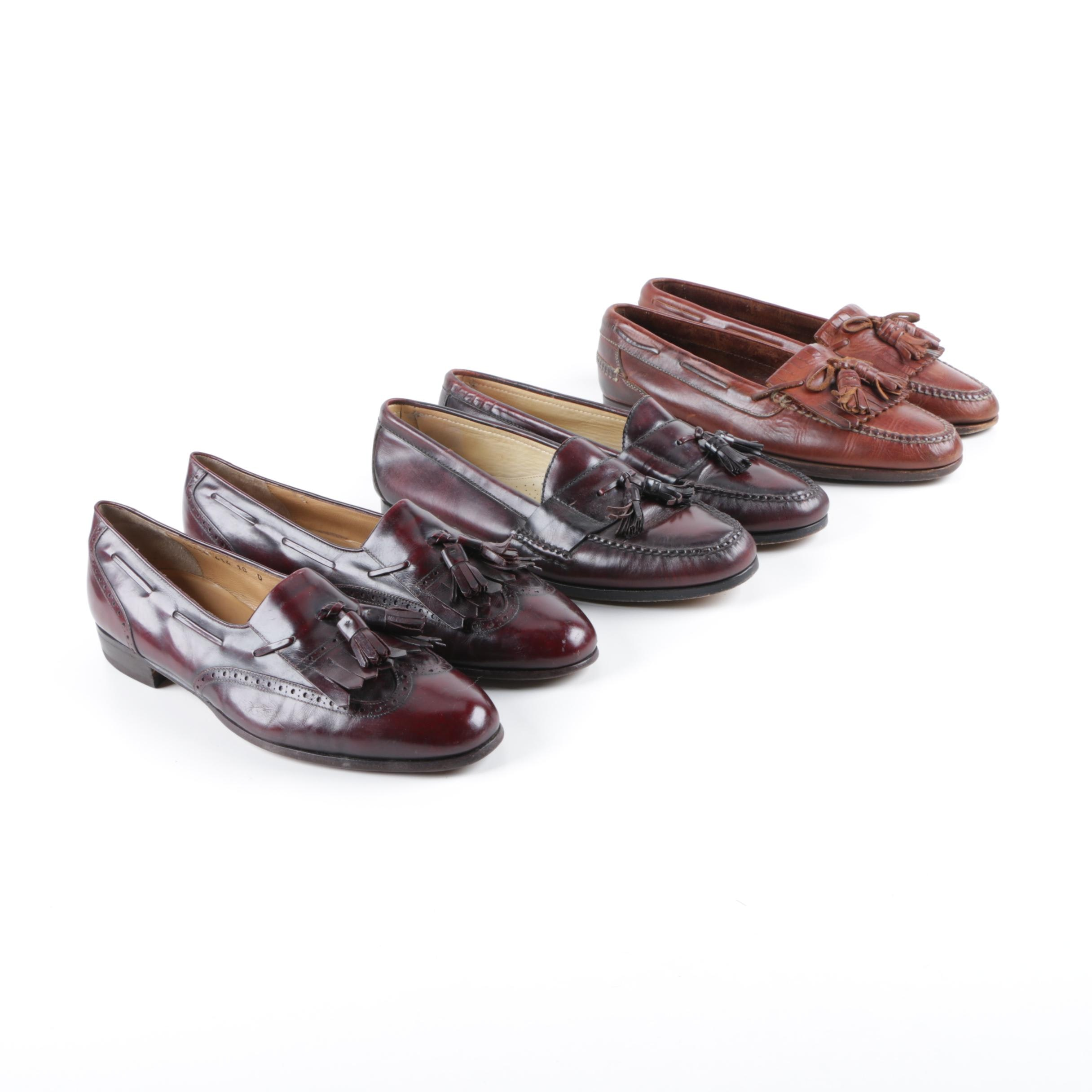 Men's Cole Haan and Salvatore Ferragamo Leather Loafers