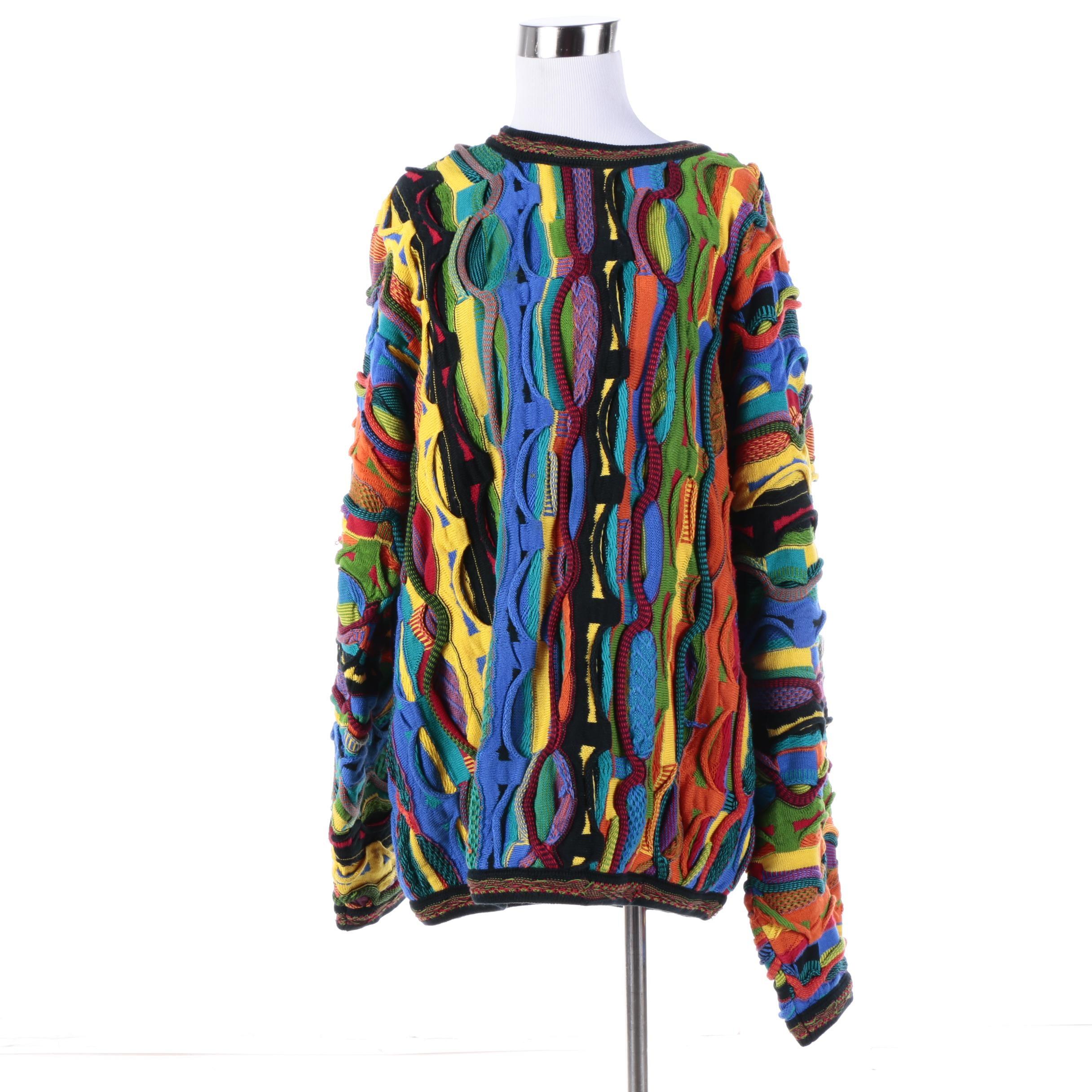 Men's Coogi of Australia Multicolor Sweater
