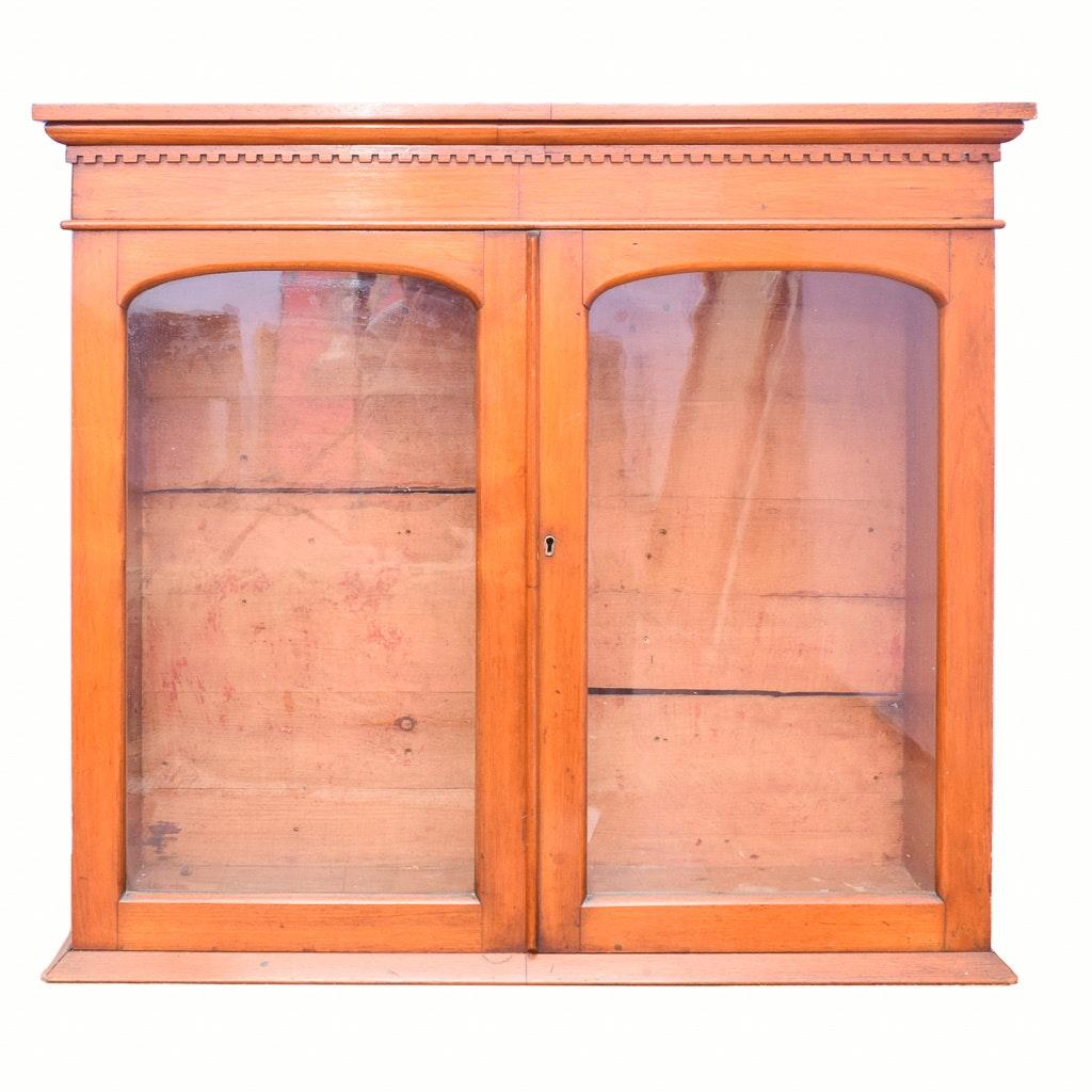 Pine Display Hutch