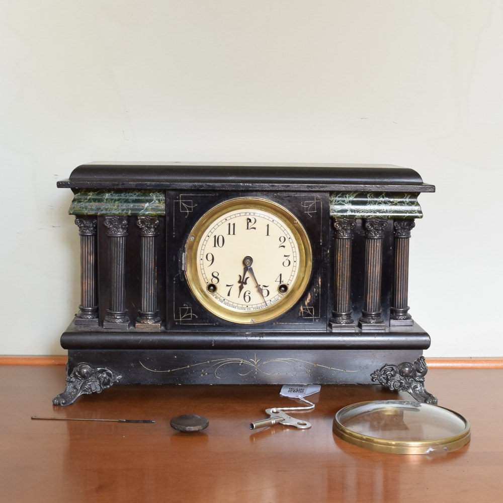 20th Century Sessions Clock Co. Mantel Clock