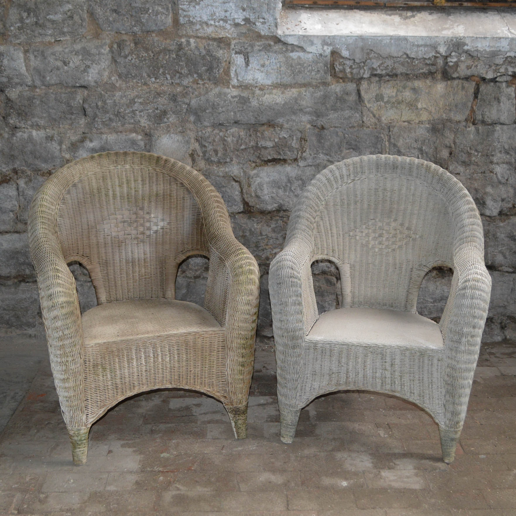 Vintage Wicker Chairs ...