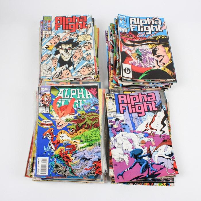 "Bronze Age Marvel ""Alpha Flight"" Comic Books"