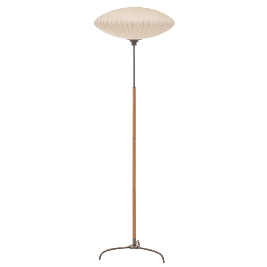 Bubble floor lamp after george nelson ebth bubble floor lamp after george nelson aloadofball Image collections