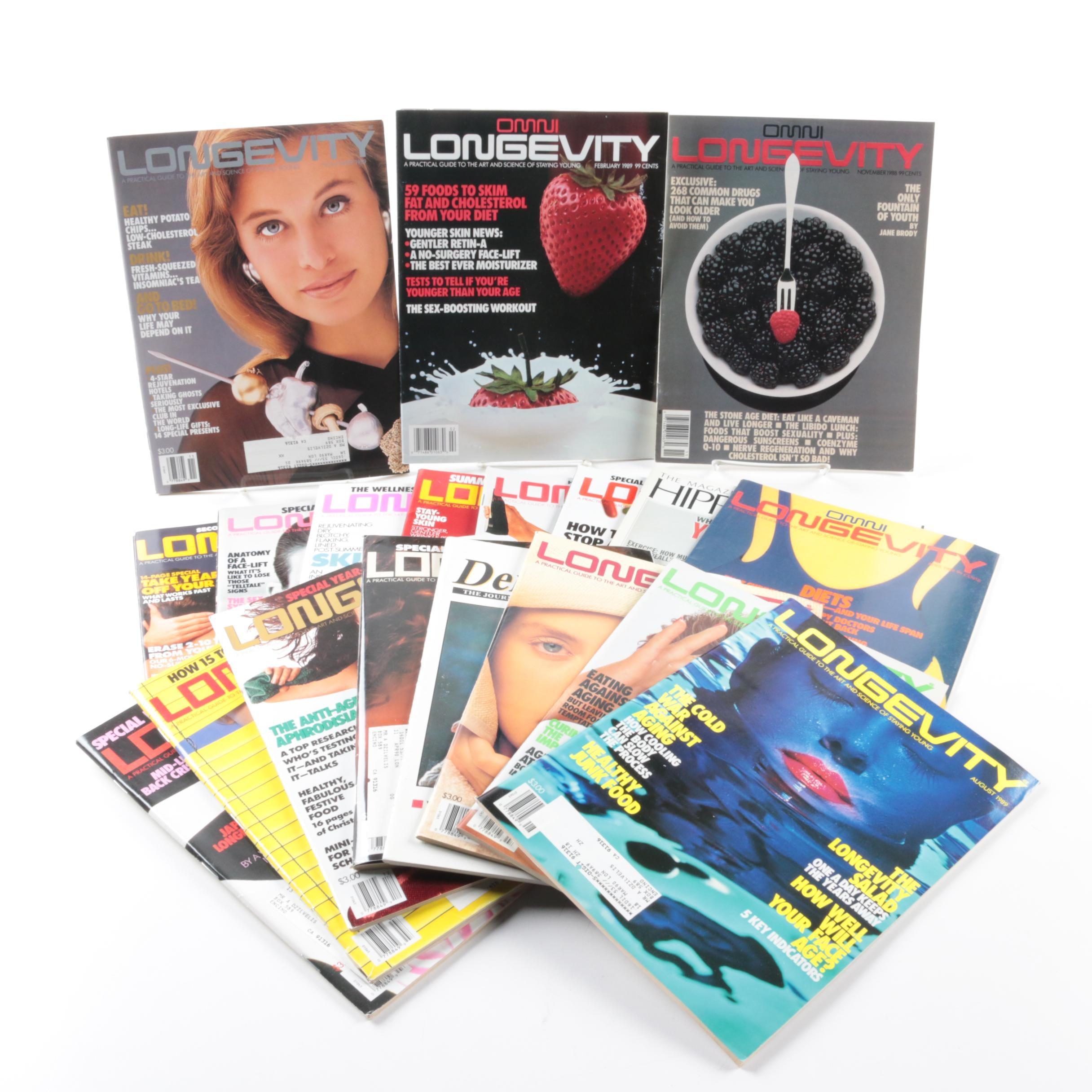 """1988 - 1989 """"Longevity"""" Magazines"""