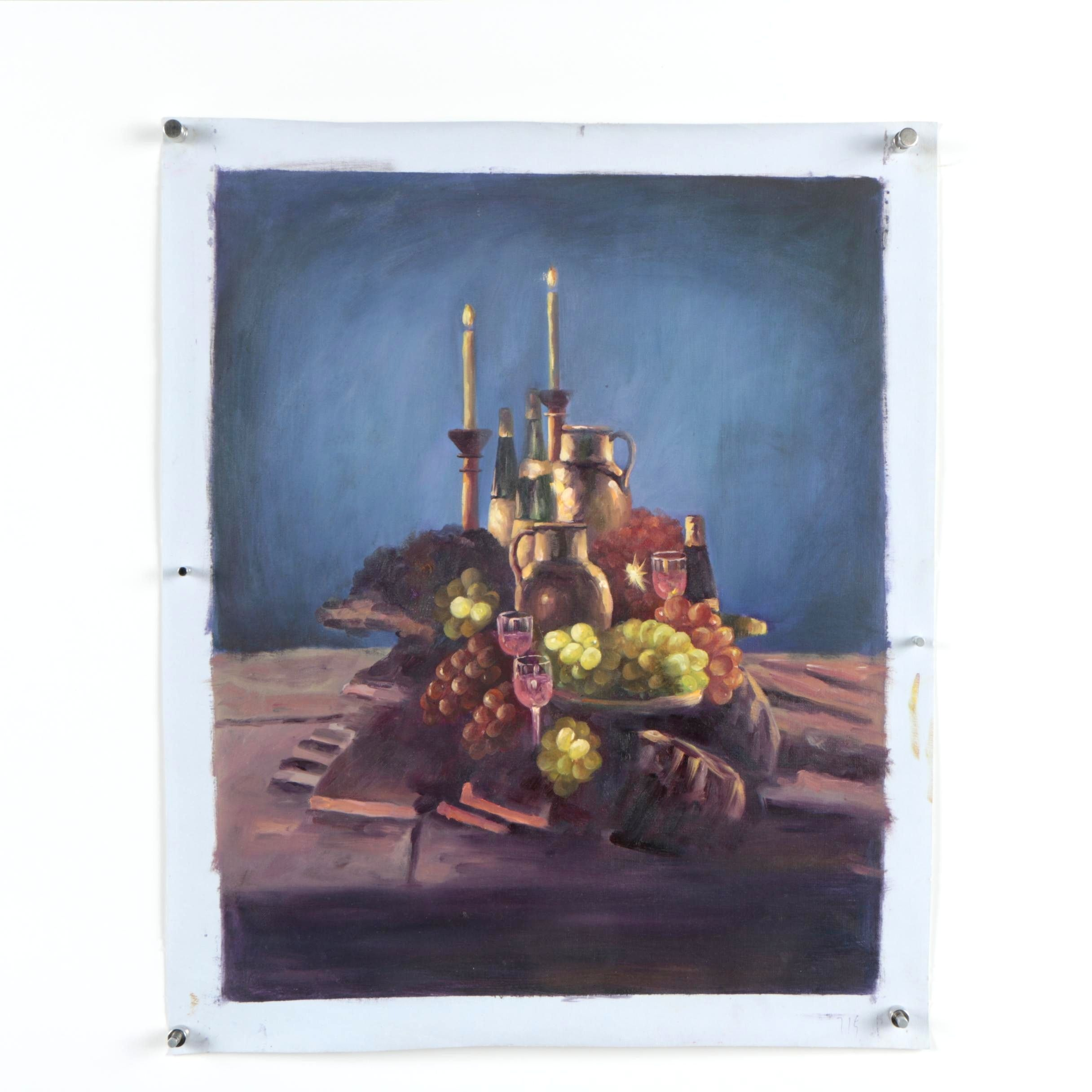 Oil Painting of Still Life