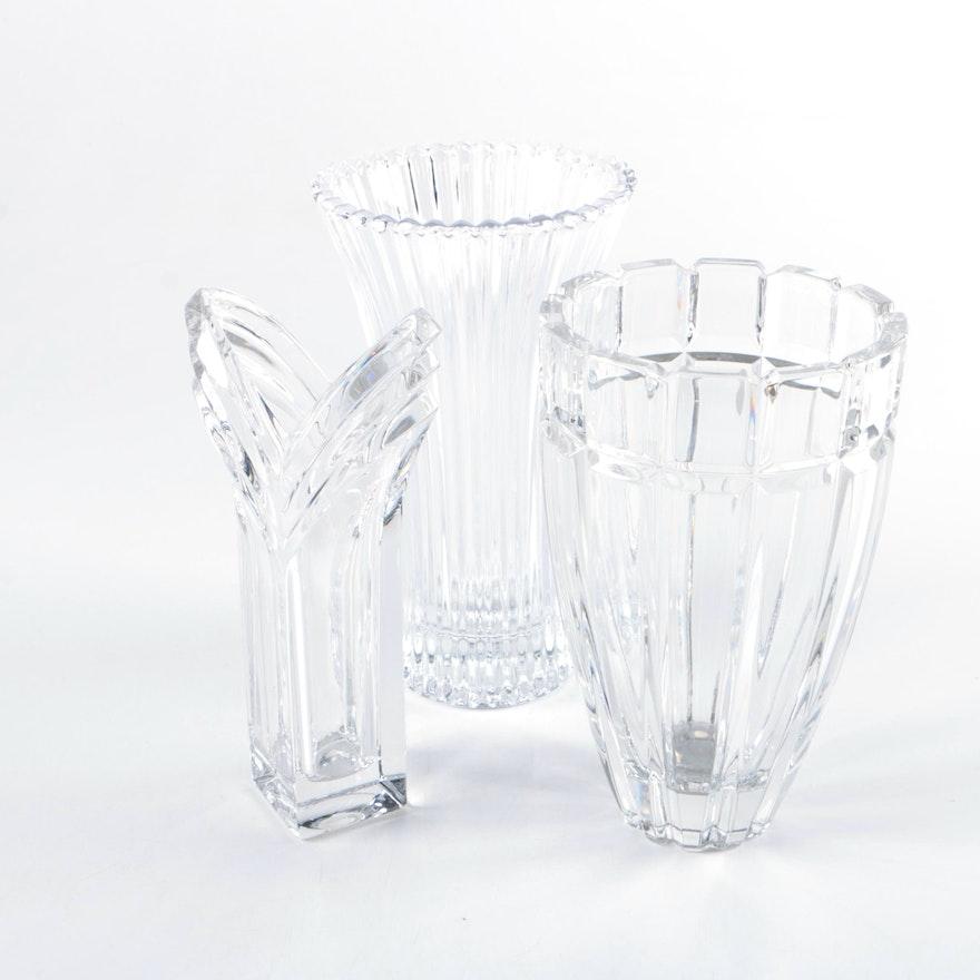 Heavy Glass Vases Ebth