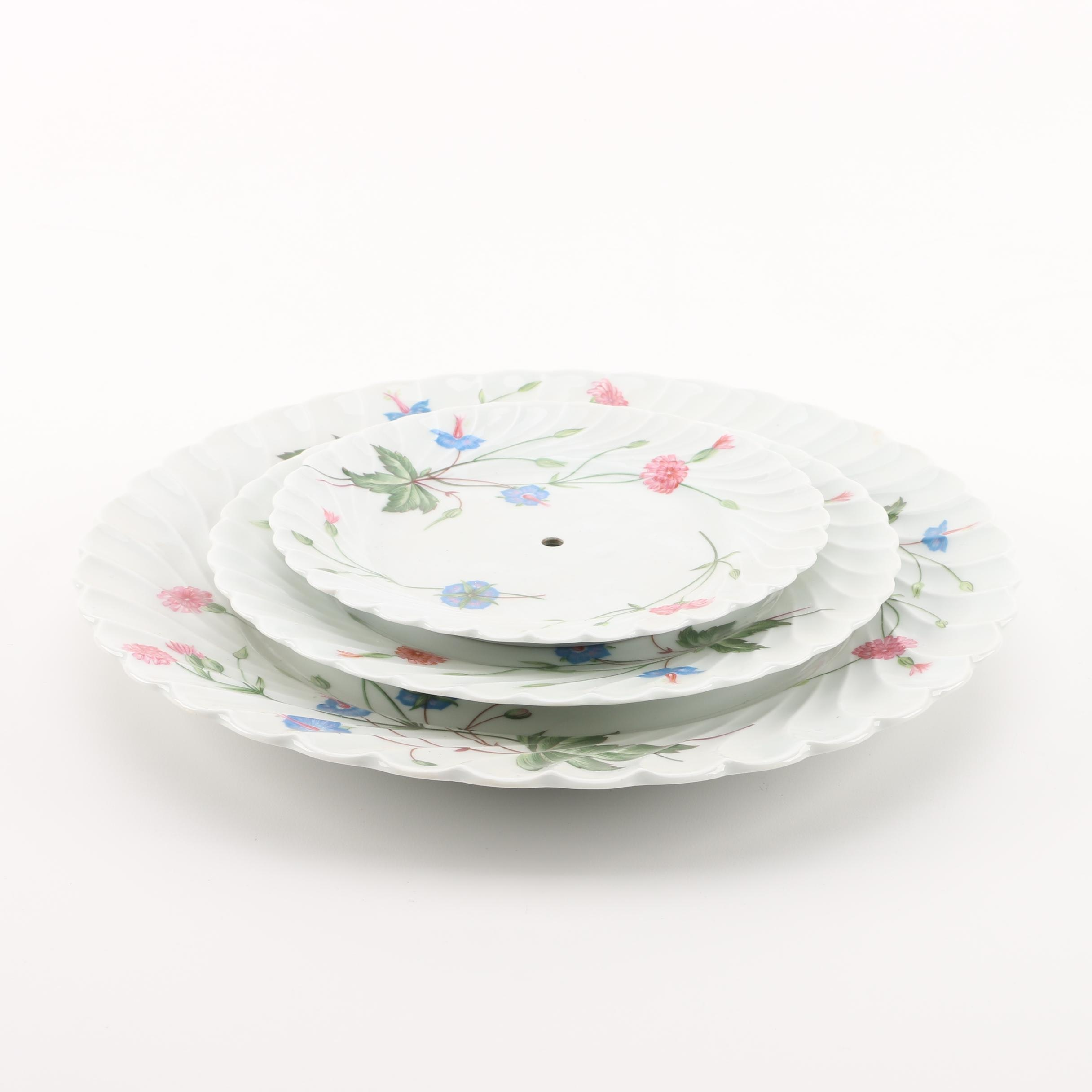 "Haviland Limoges ""Florence"" Porcelain Trays"