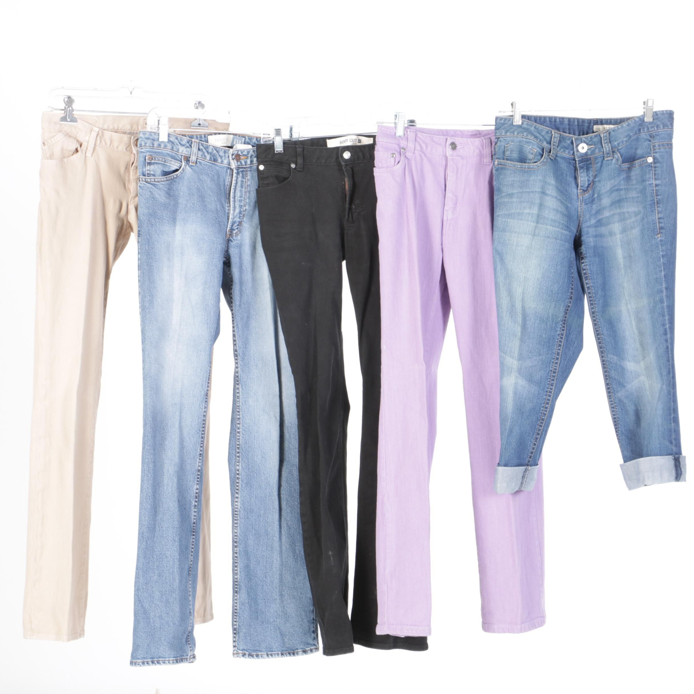 Women's Jeans Including Chadwick's, Gap and DKNY Jeans