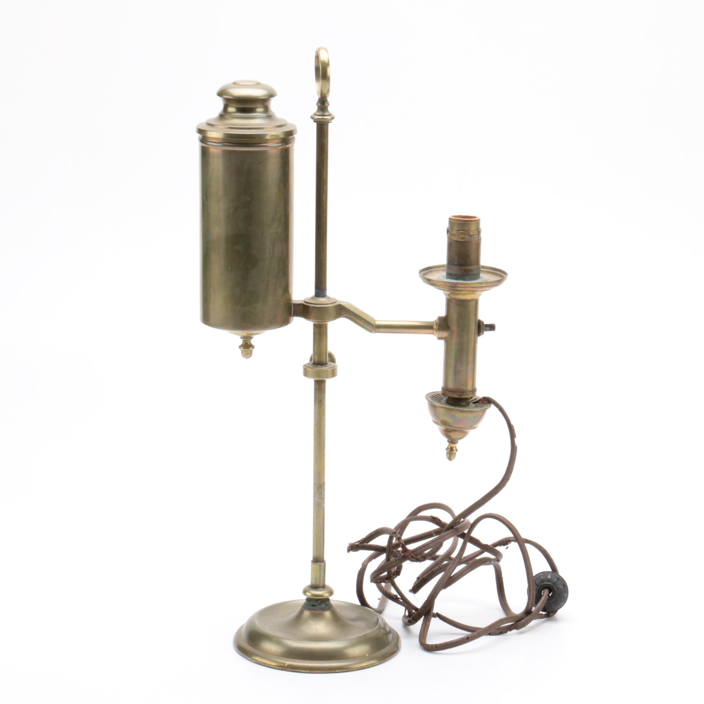 Antique Converted Oil Lamp