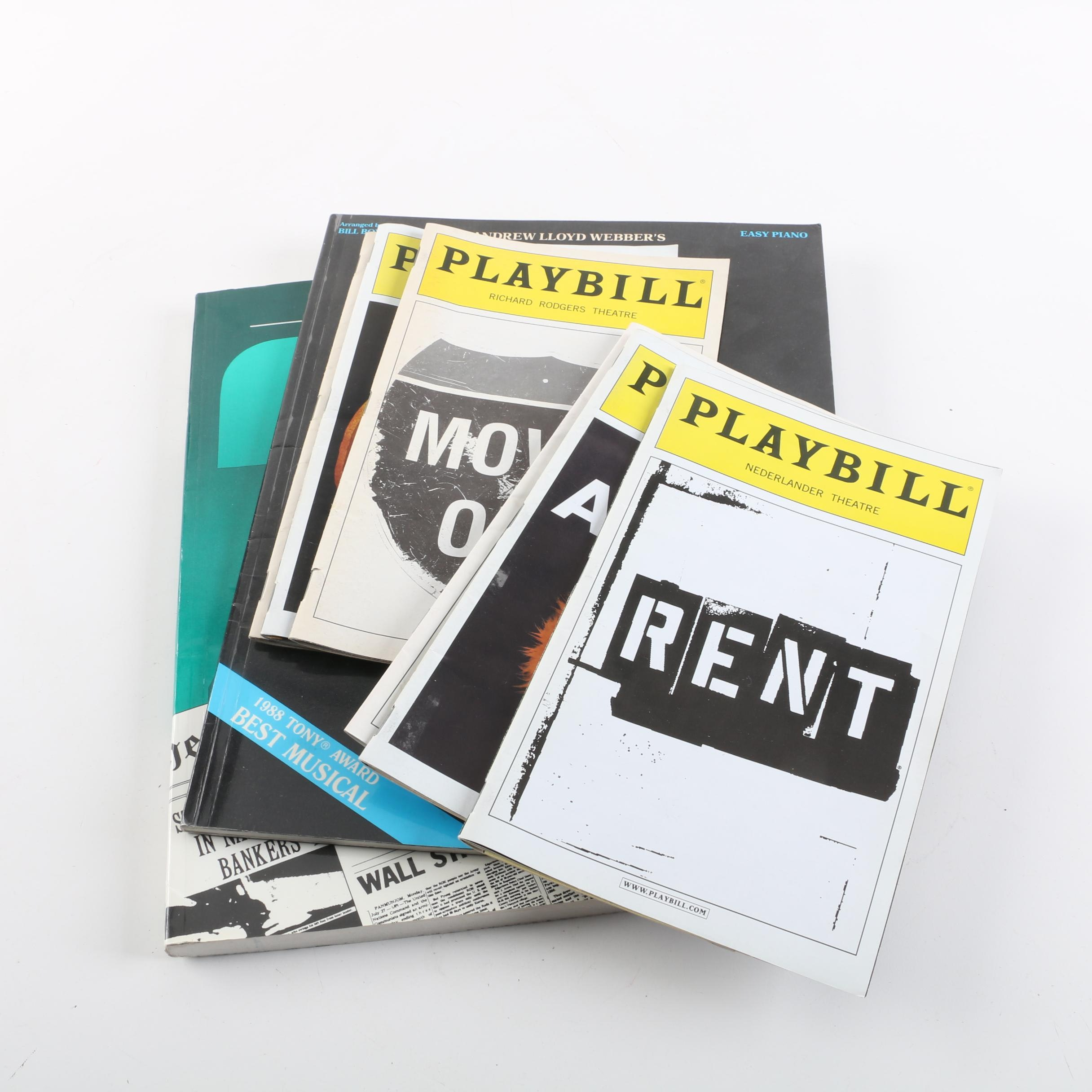 Collection of Playbills