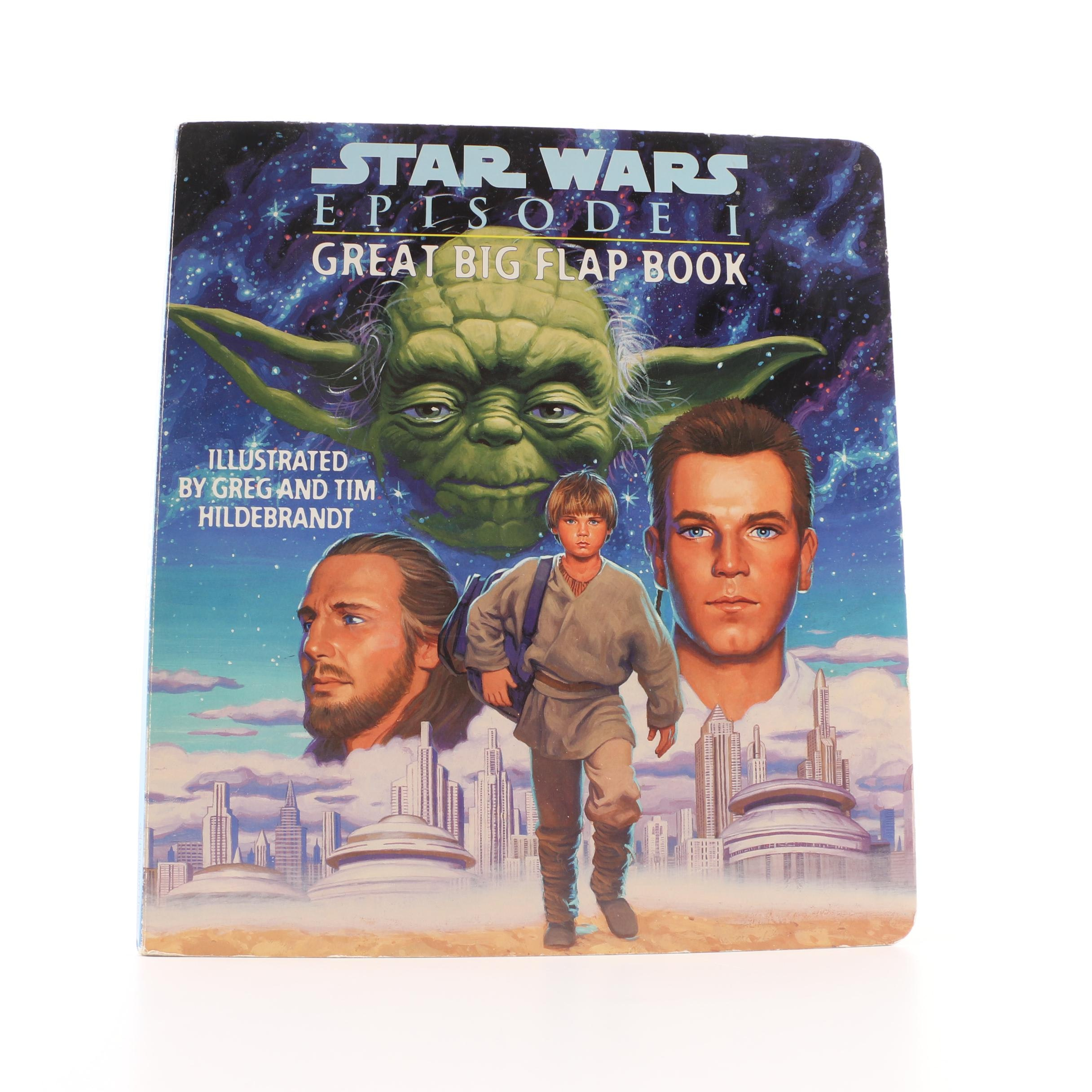 """Star Wars: Episode I Great Big Flap Book"" Children's Book"