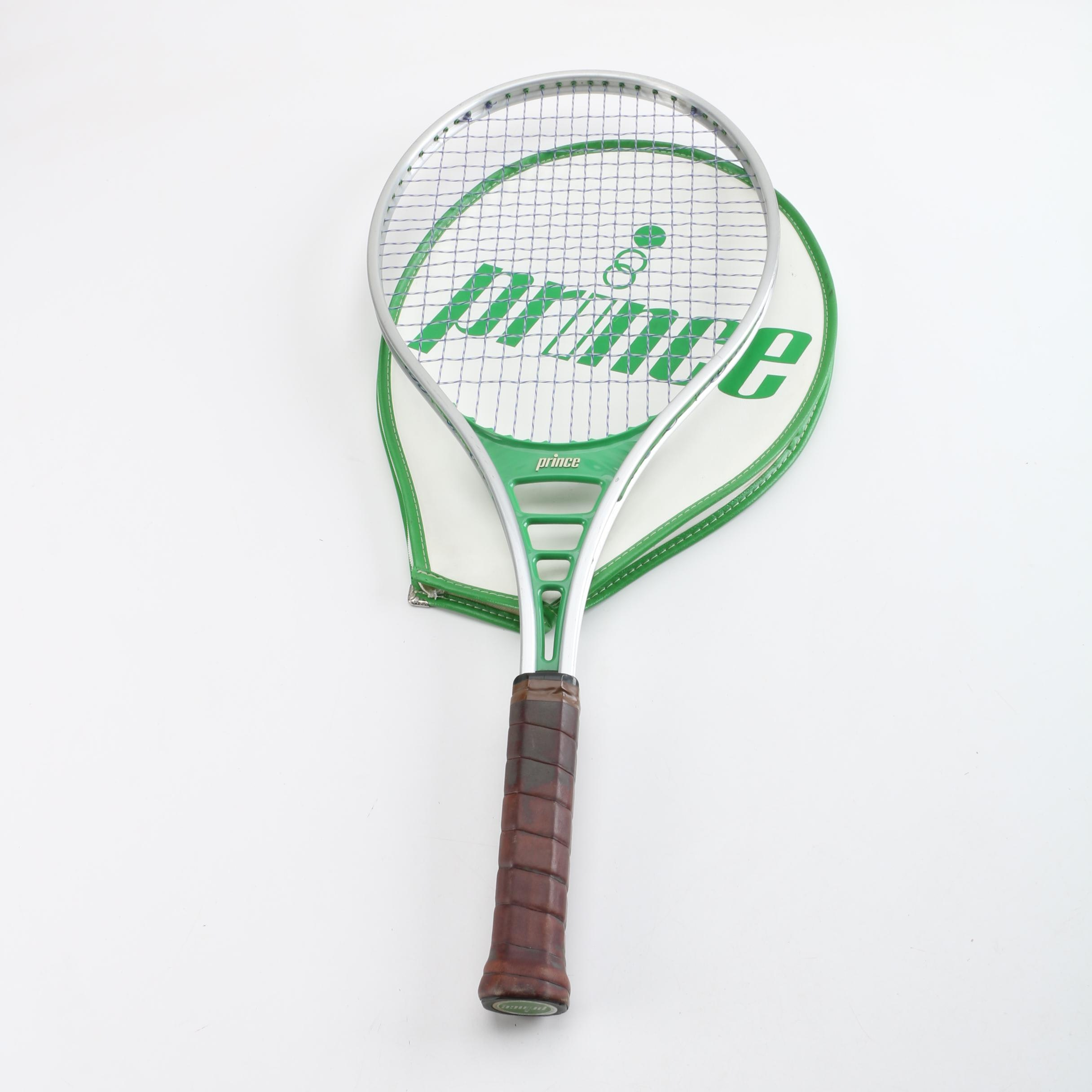 Prince Tennis Racket with Head Cover