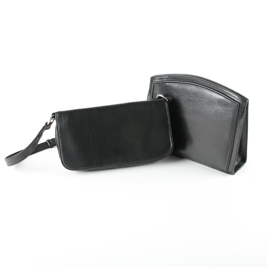 adf676704c Salvatore Ferragamo and Hobo International Black Leather Handbags   EBTH