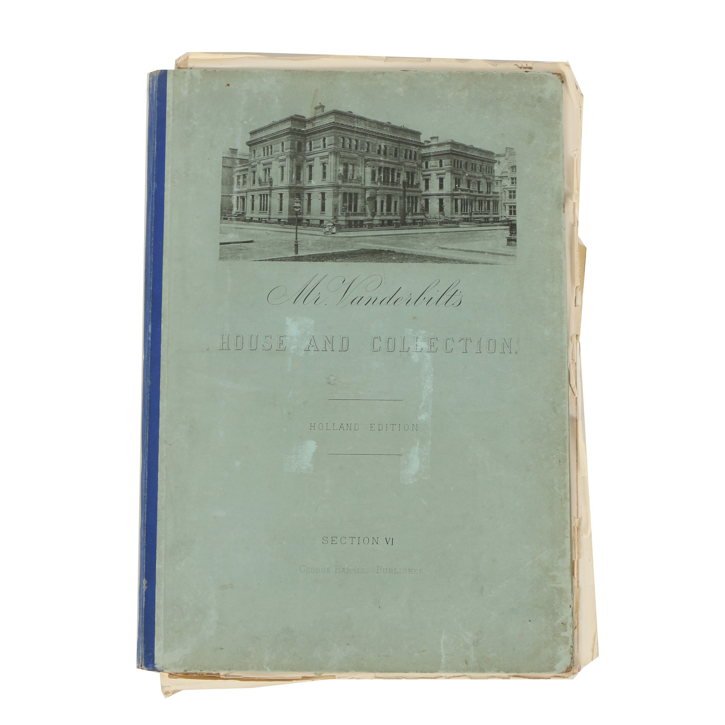 """1883 """"Mr. Vanderbilt's House and Collection"""" Holland Edition, Section VI"""