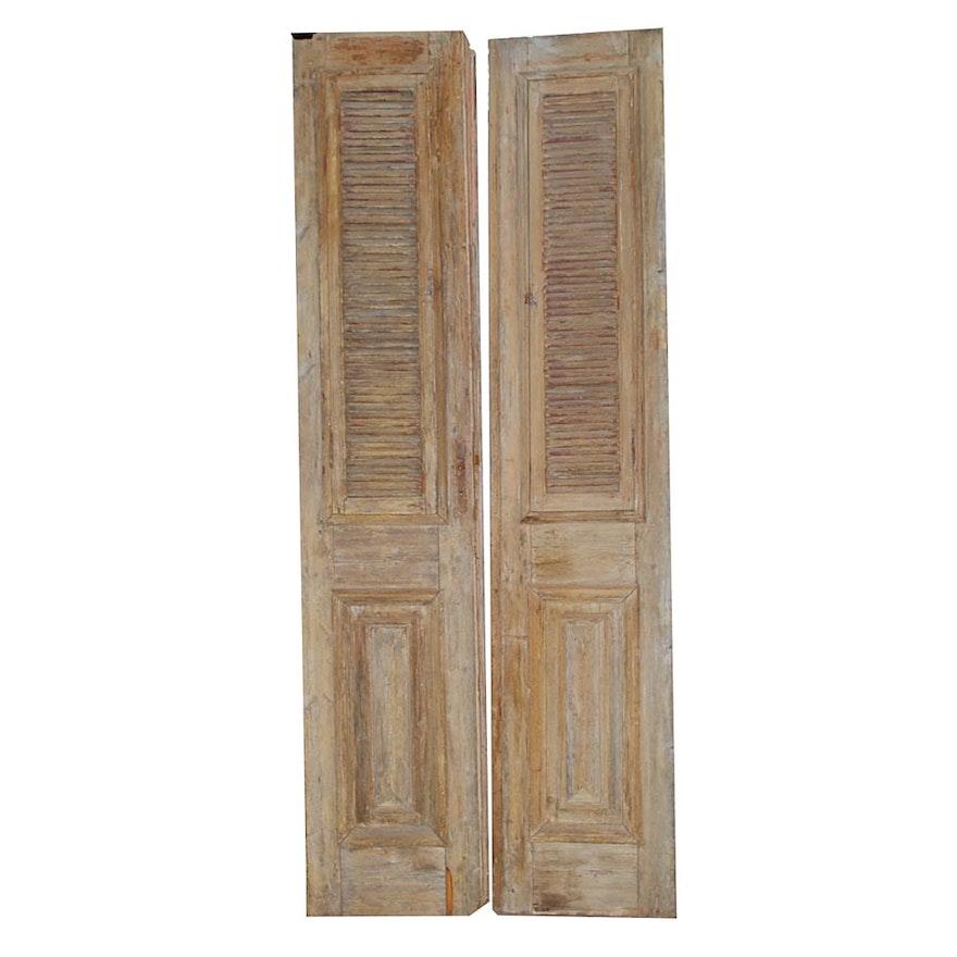 Salvaged Vintage Wooden Doors : EBTH
