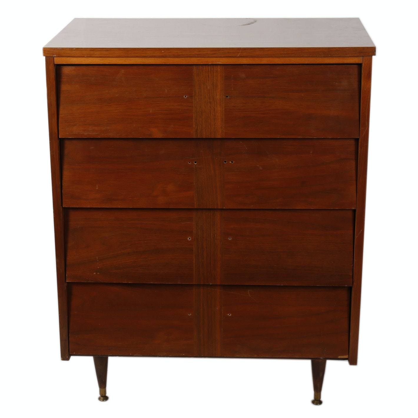 Exceptionnel Mid Century Modern Walnut Chest Of Drawers By Ward Furniture ...