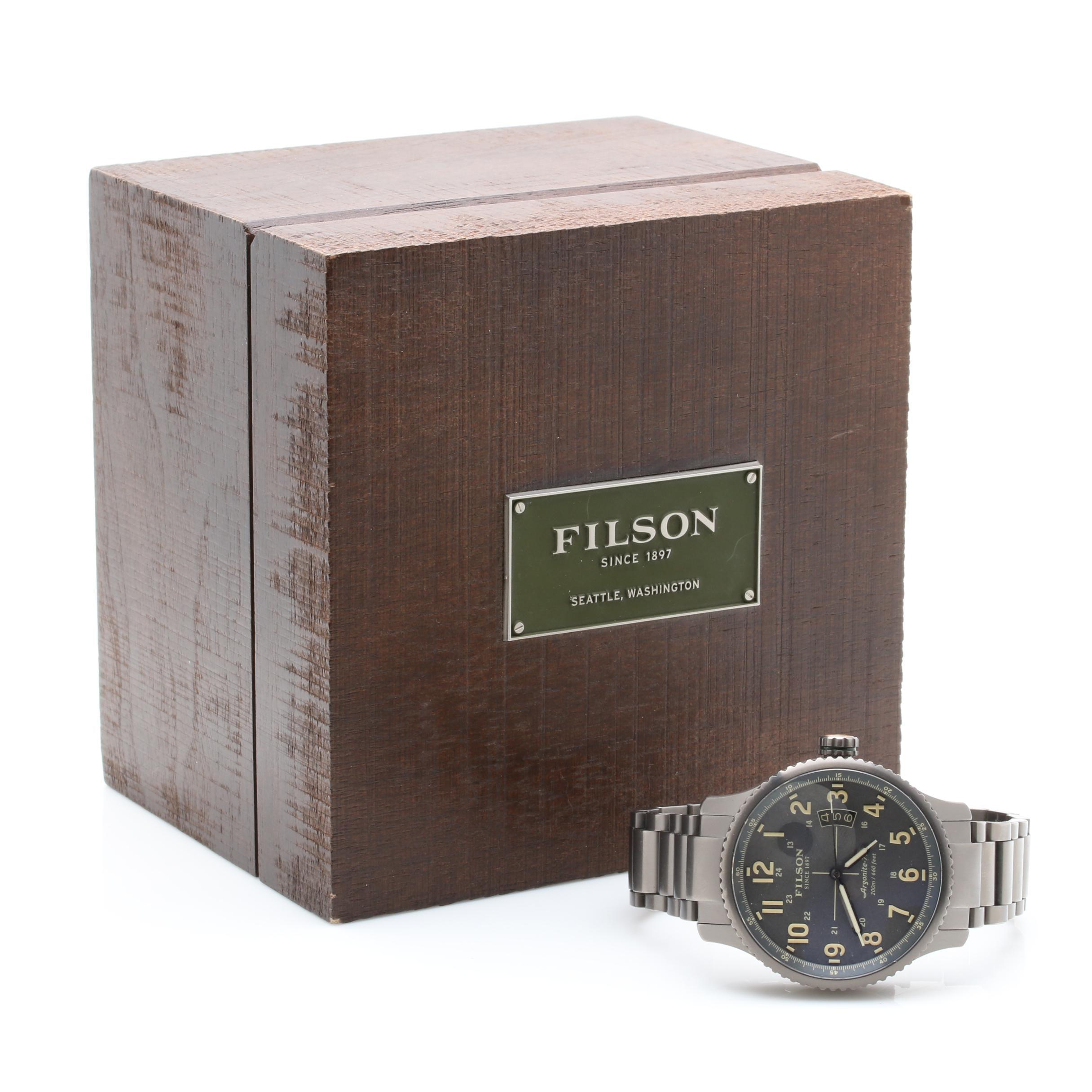 Shinola Filson Automatic Wristwatch