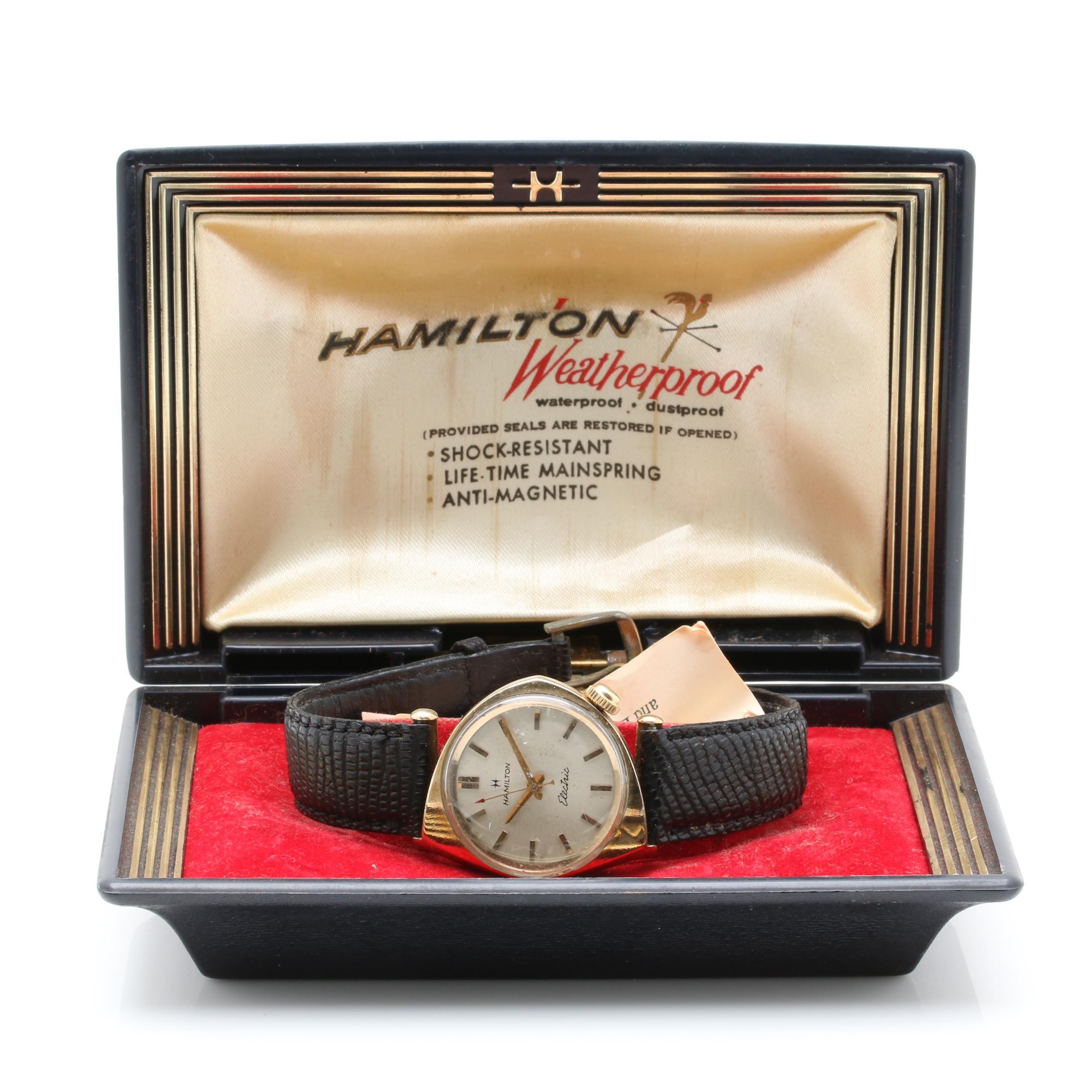 """Hamilton """"Savitar II"""" Electric Wristwatch"""