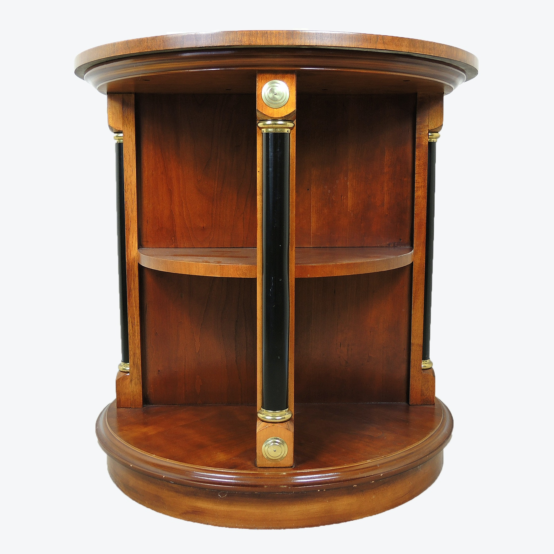 Empire Style Cherry Library Table