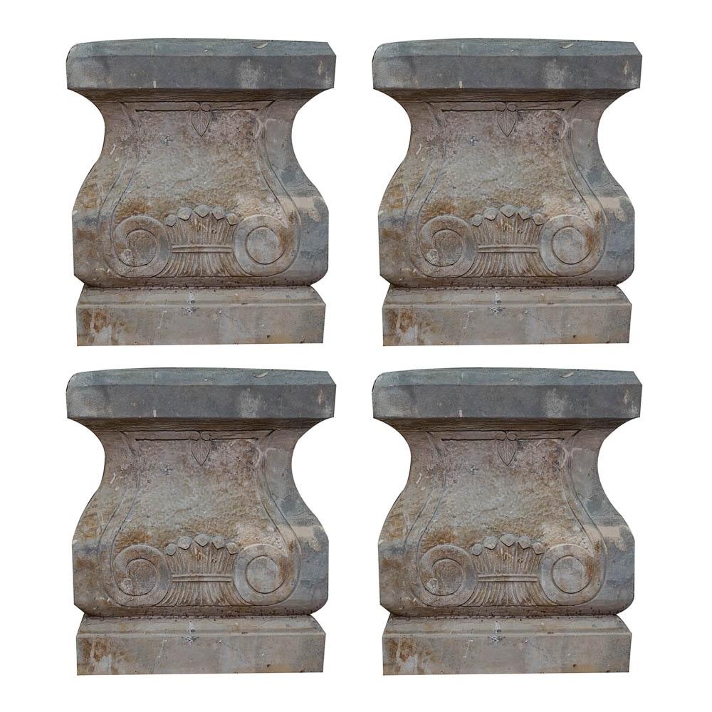 Cast Stone Garden Pedestals ...