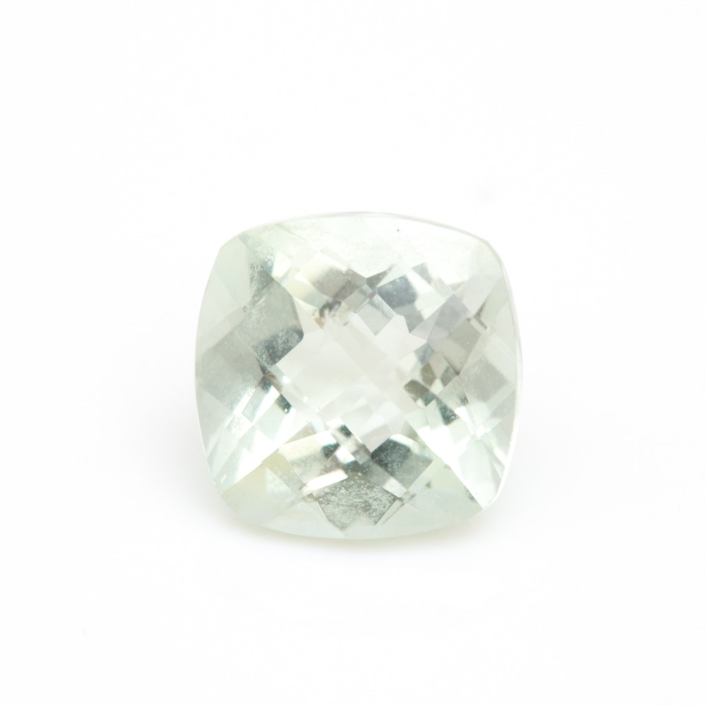 Loose 2.04 CT Green Amethyst Gemstone