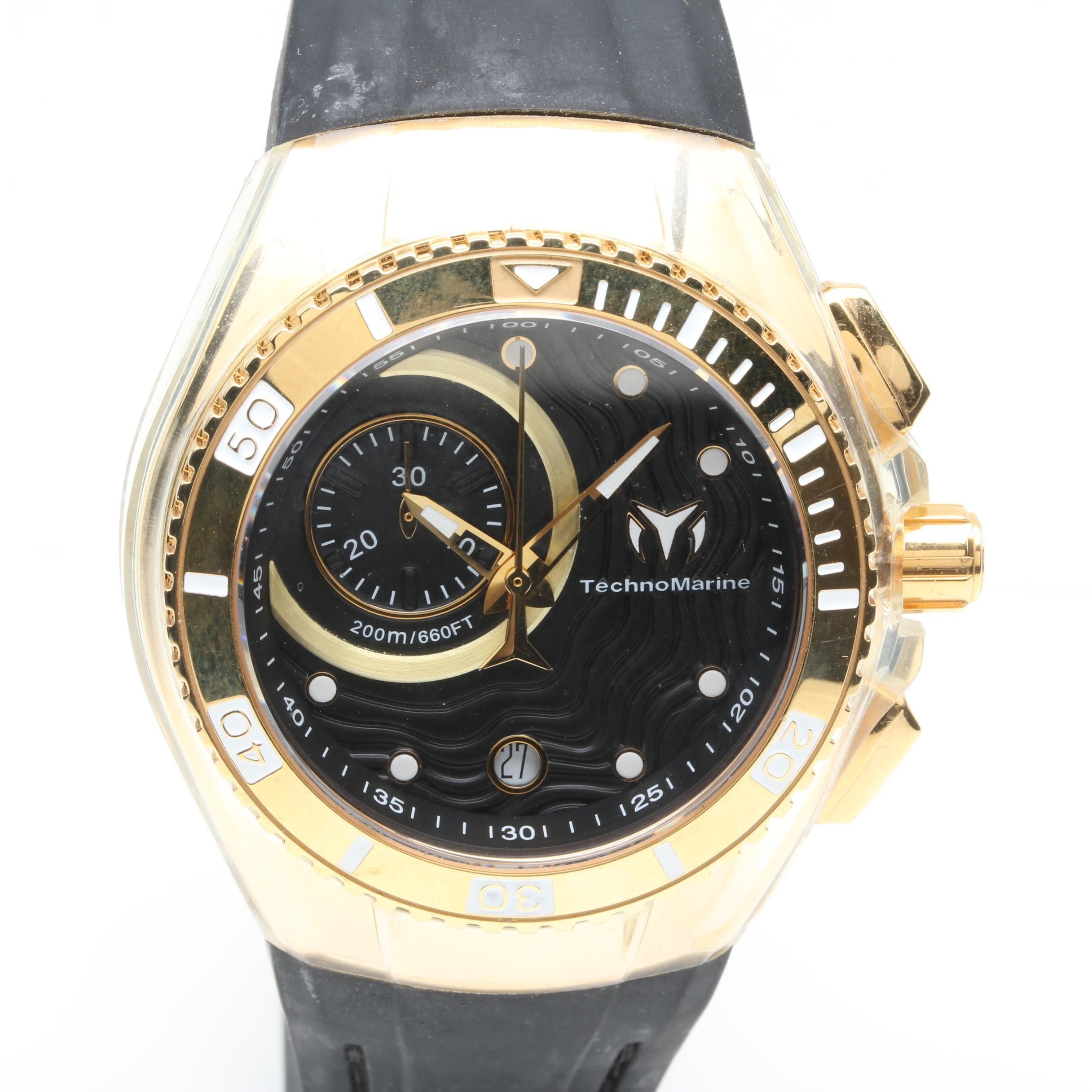 TechnoMarine Cruise One Stainless Steel Analog Wristwatch