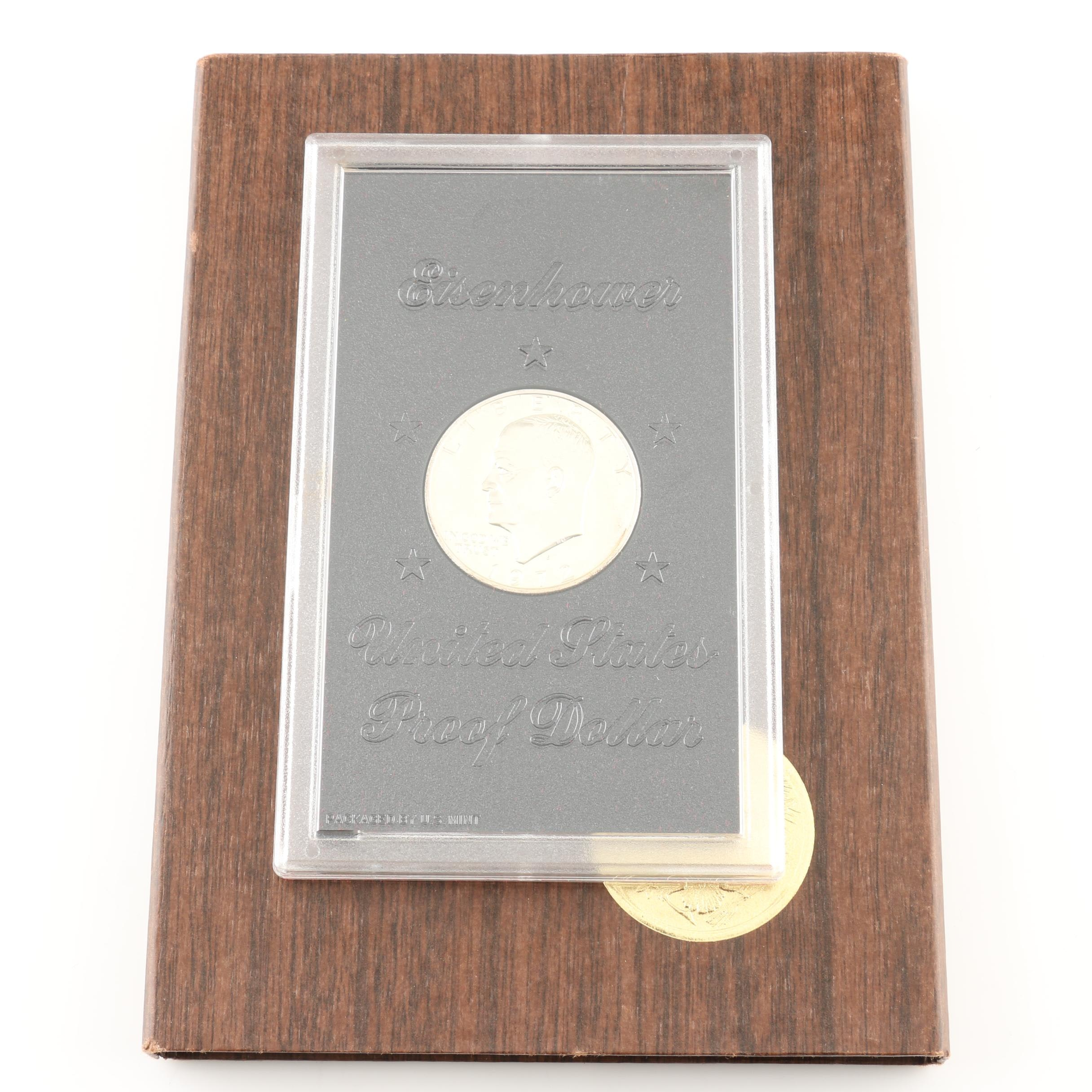 1972-S Eisenhower Proof Silver Dollar