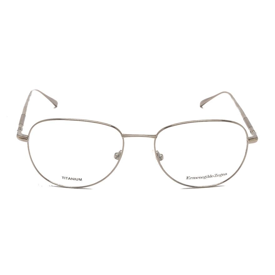 8aa3f309e1af Ermenegildo Zegna Titanium Frame Eyeglasses : EBTH