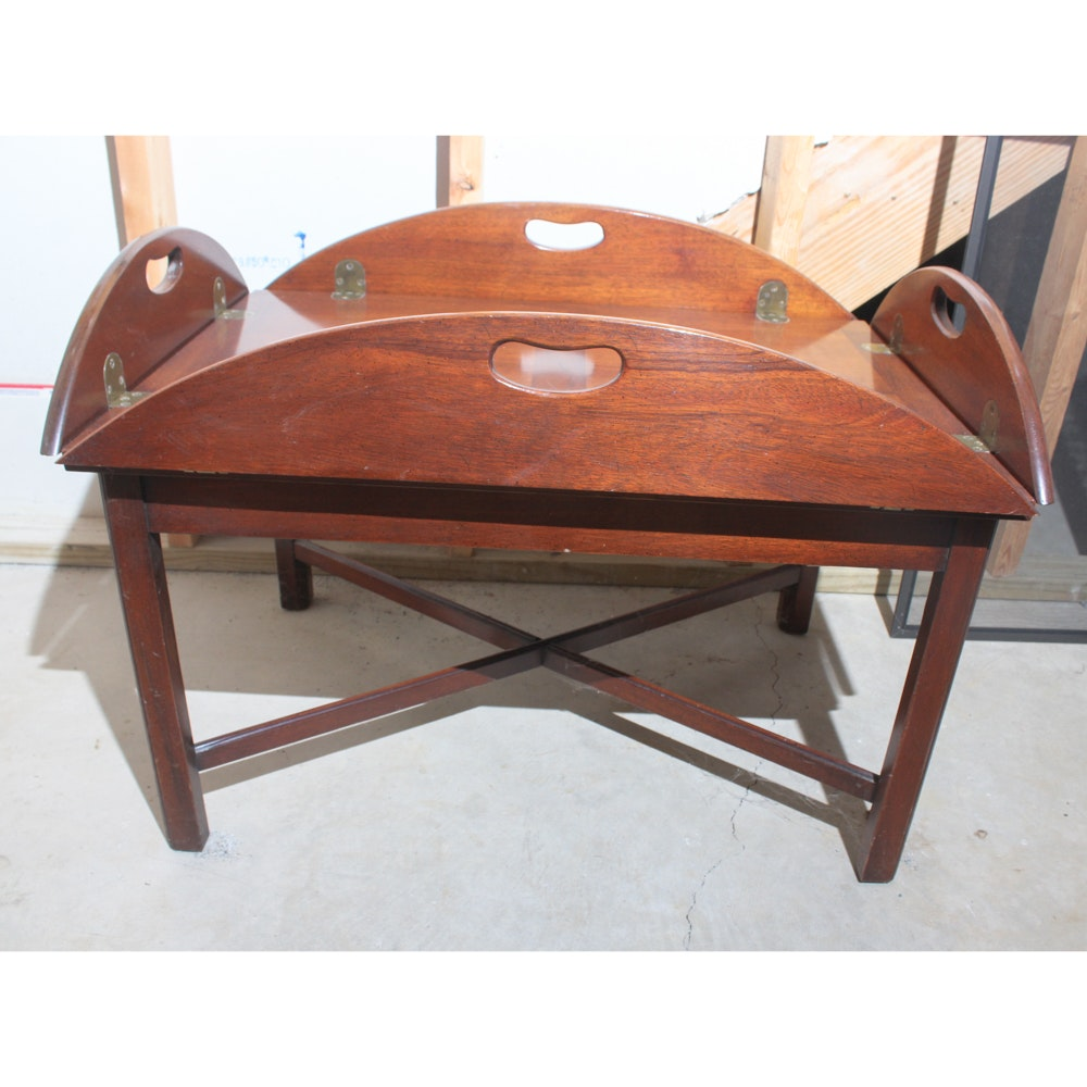 Delicieux Vintage Hickory Chair Company Butler Coffee Table ...