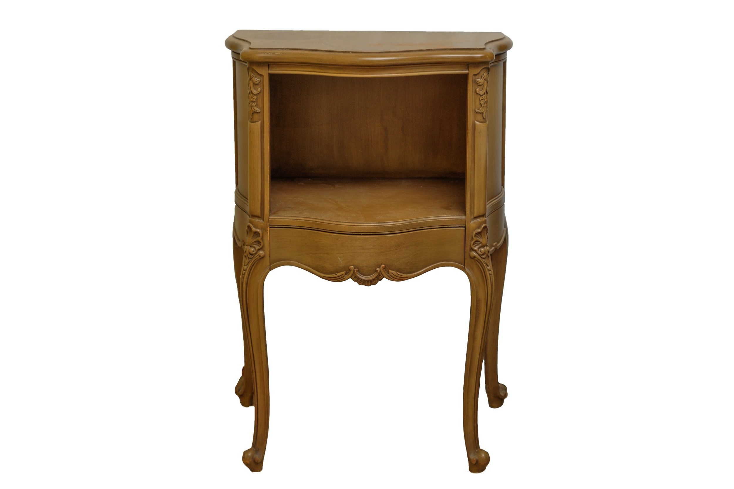 Vintage French Provincial Style Side Table by Drexel