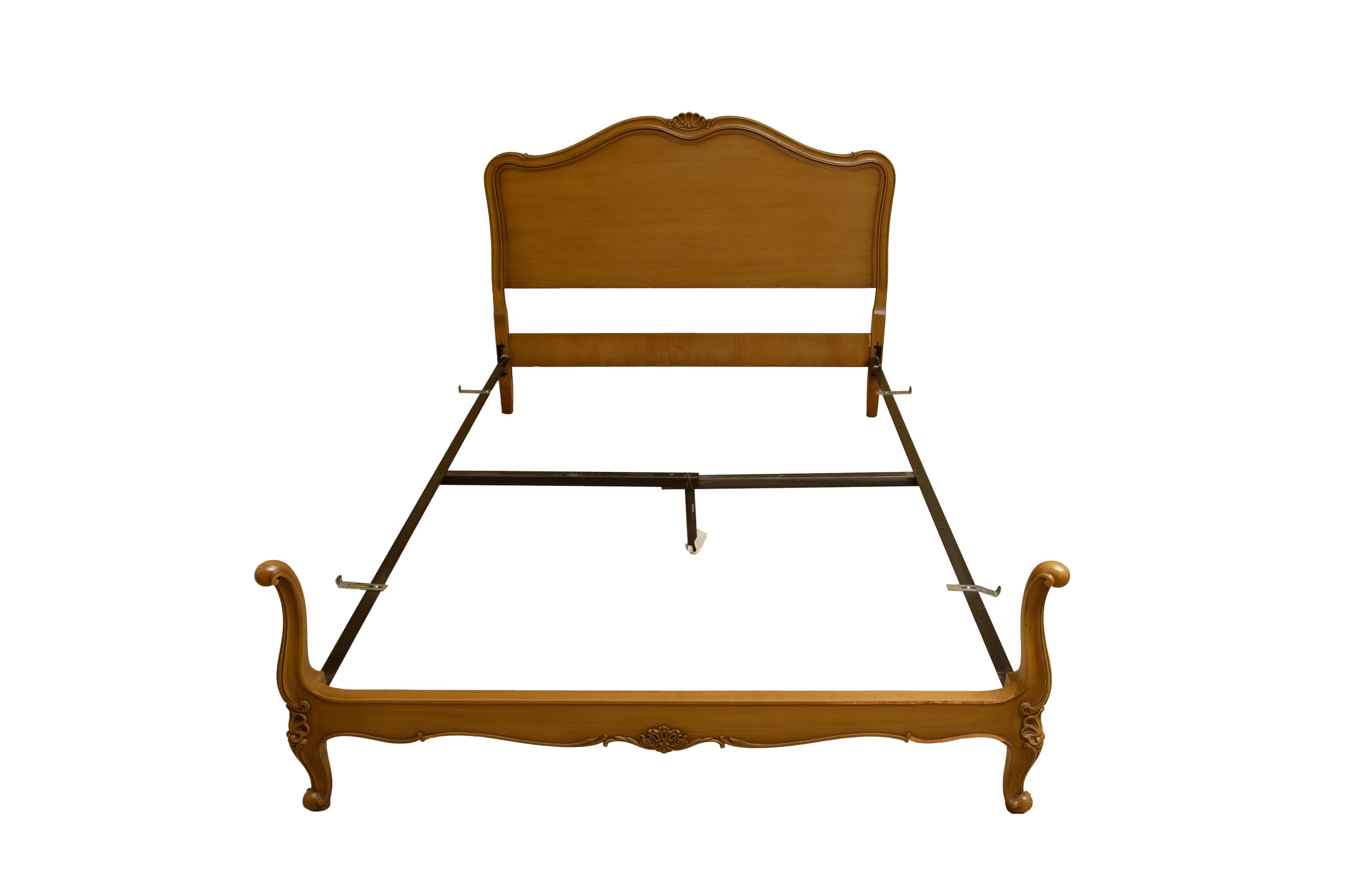 French Provincial Style Full Size Bed Frame by Drexel