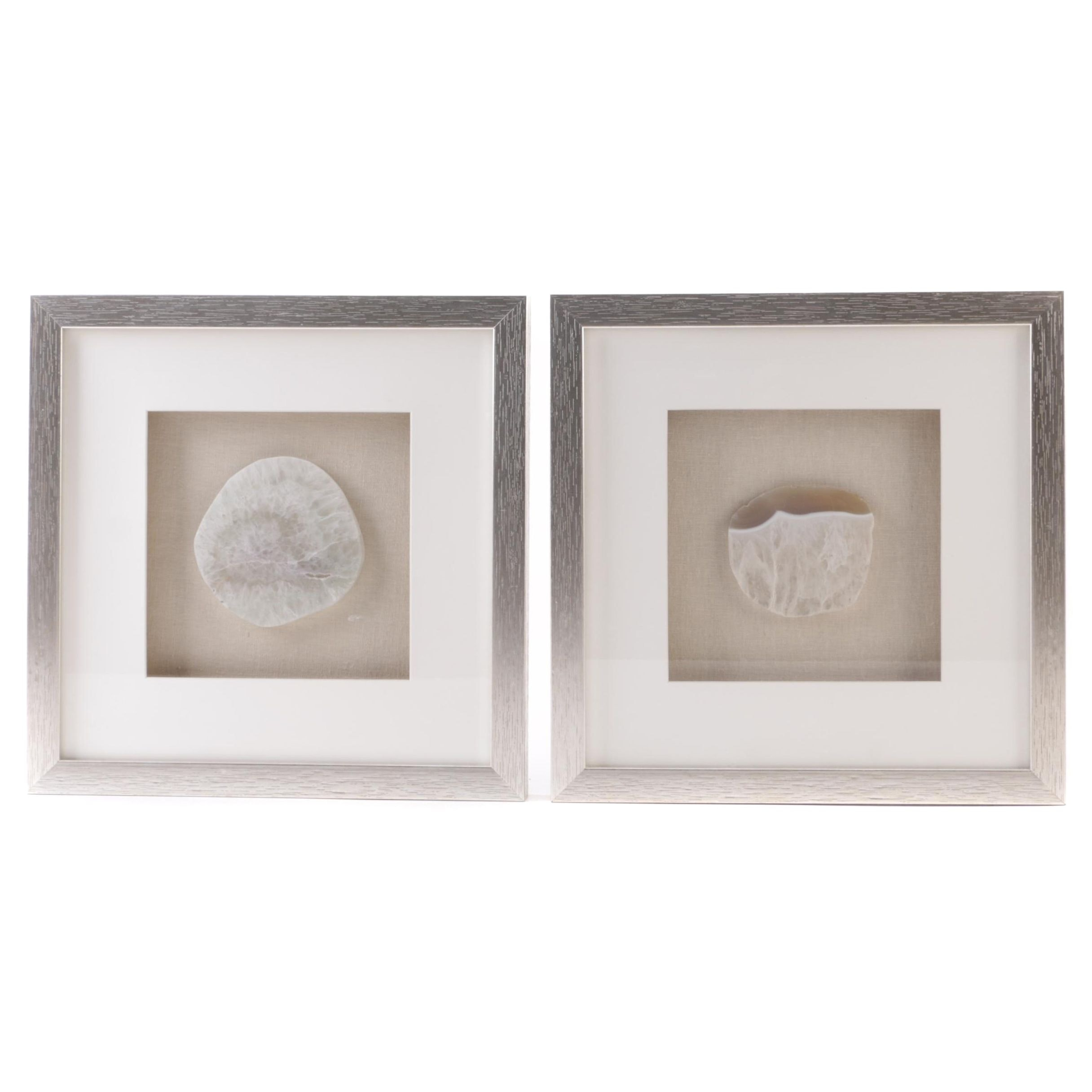 Framed Quartz Specimens