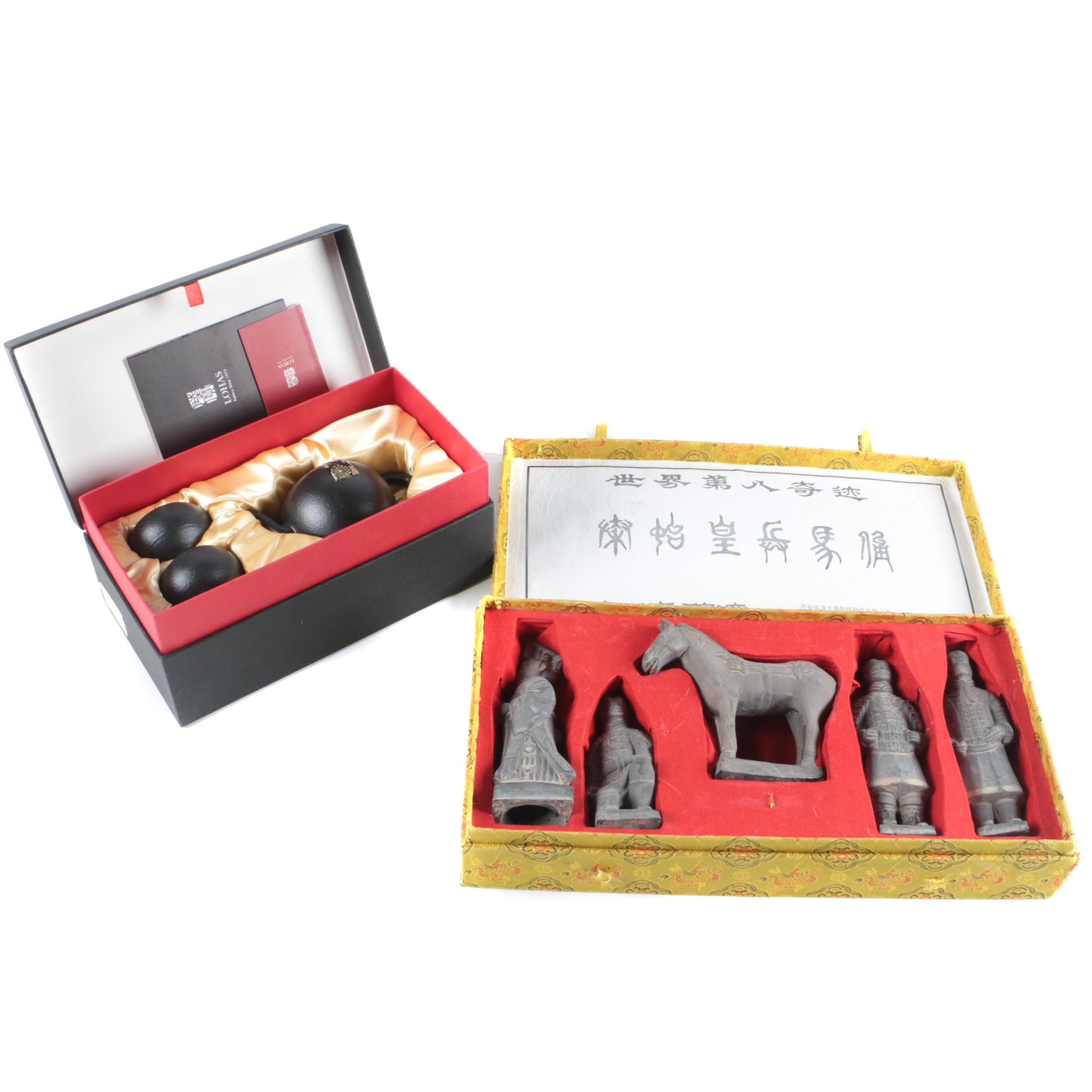 Chinese Replica Terracotta Warrior Figurine Set