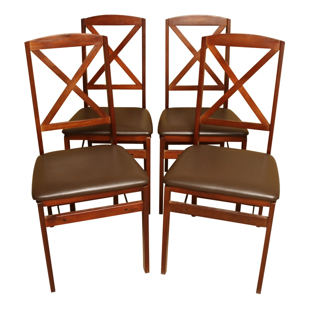 Wooden Cosco Folding Chairs