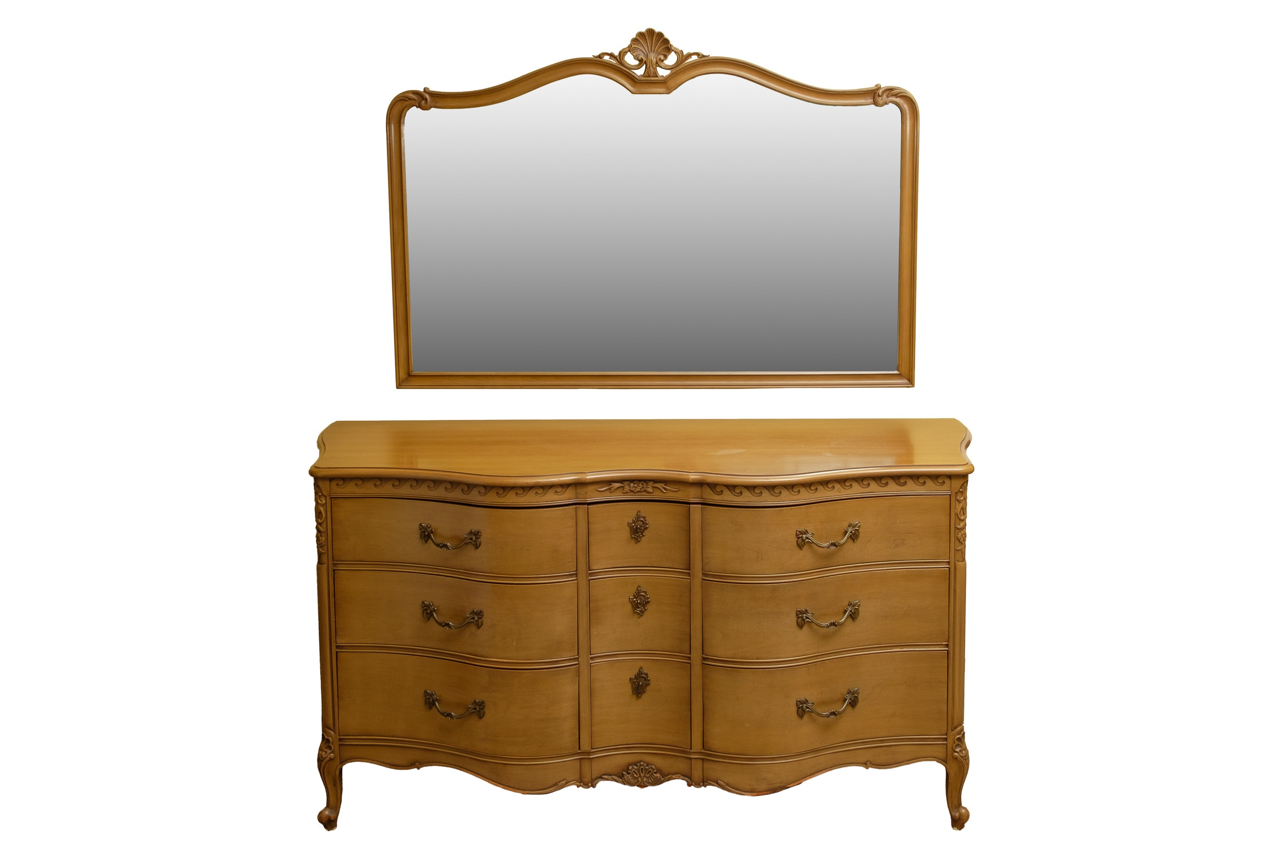 Vintage French Provincial Style Dresser by Drexel