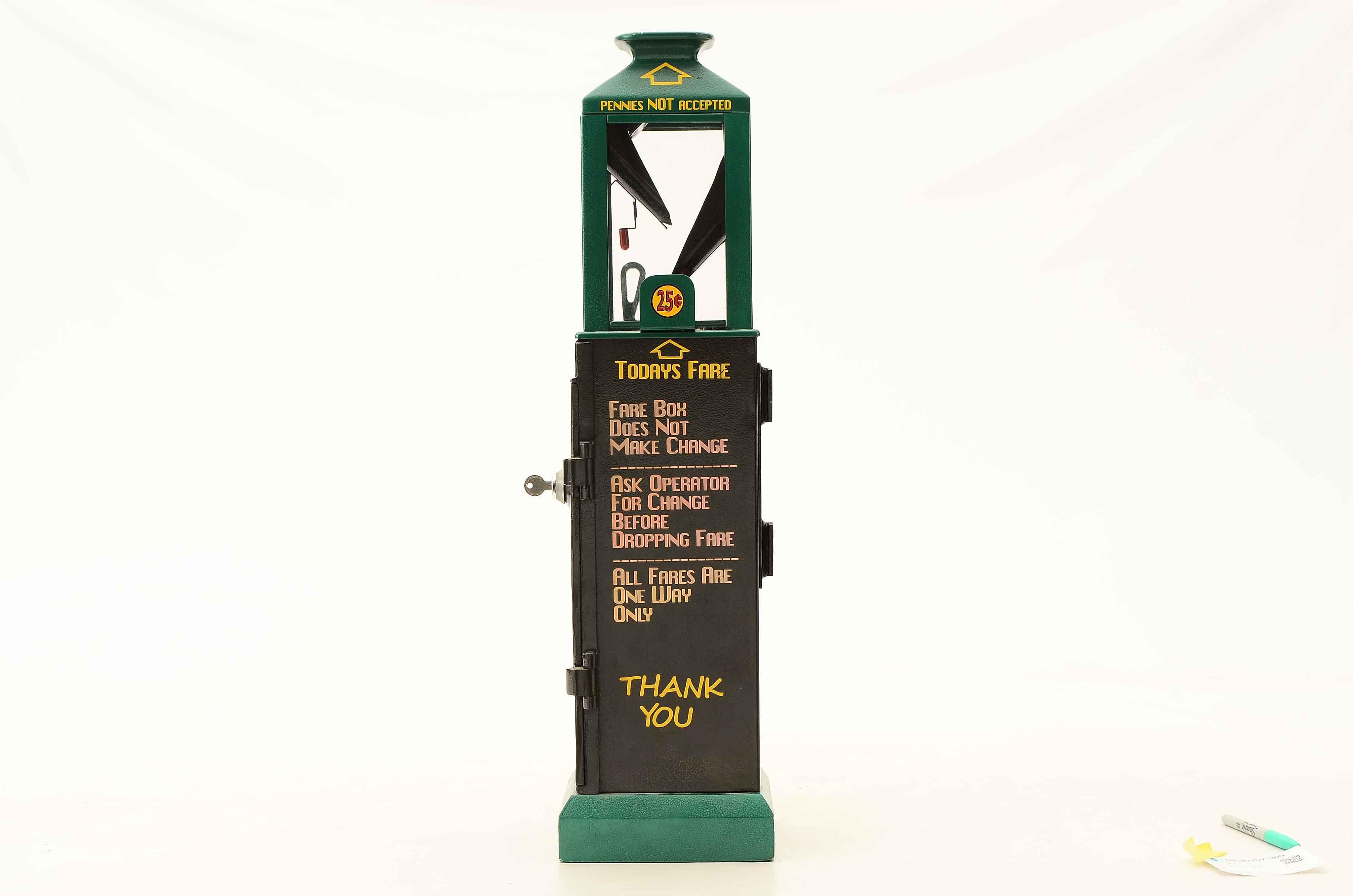 Cleveland Fare Mechanical Box