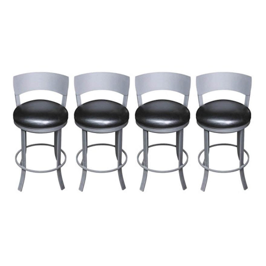 Four Contemporary Style Barstools By Trendler Inc Ebth