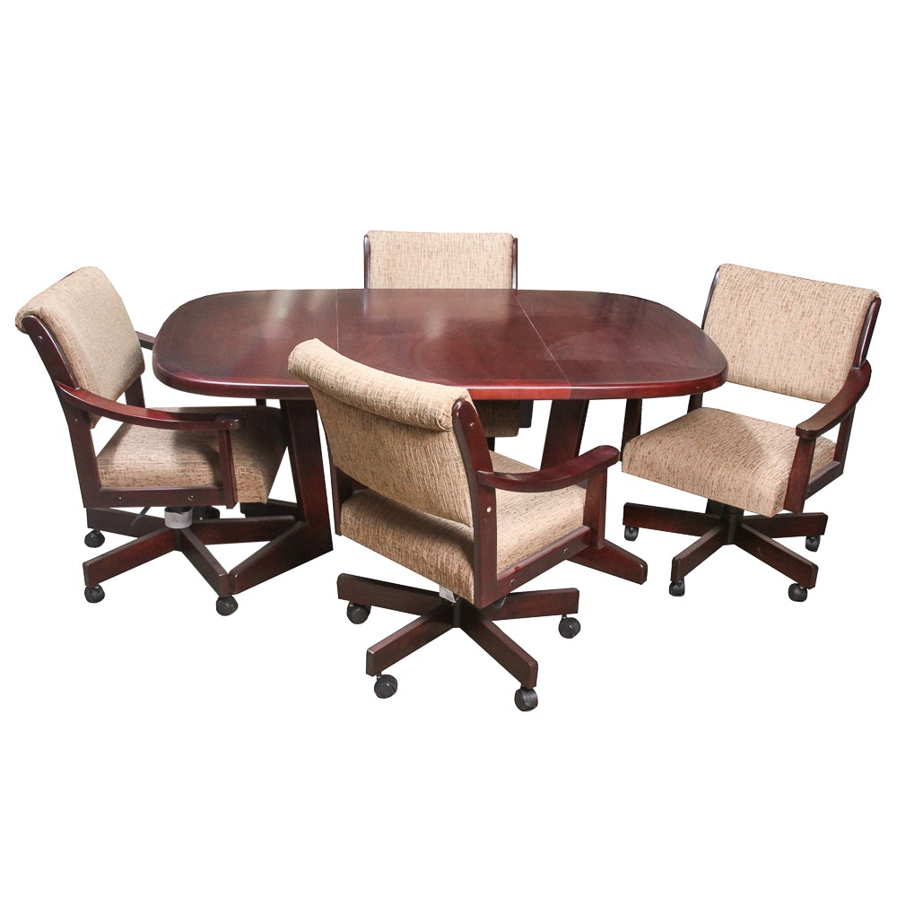 Contemporary Conference Table With Chairs