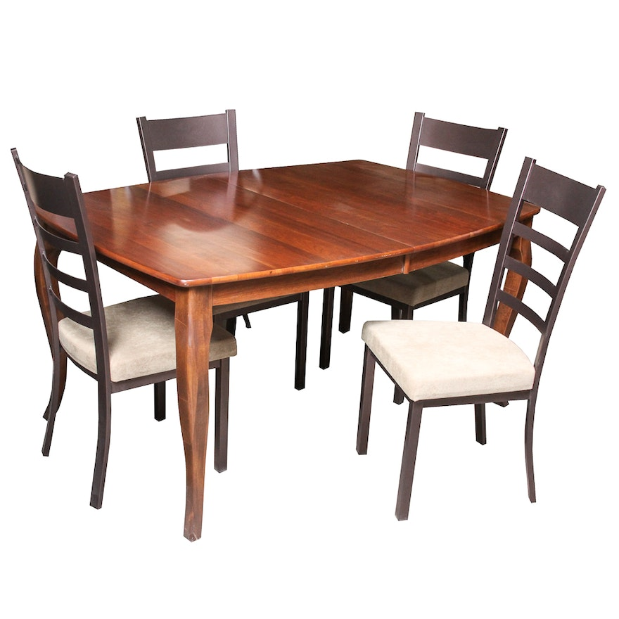 Dining Table With Side Chairs By Richardson Brothers Company