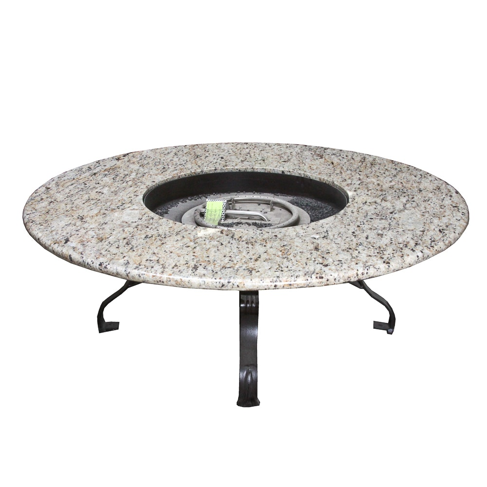 O. W. Lee Granite Top Fire Pit