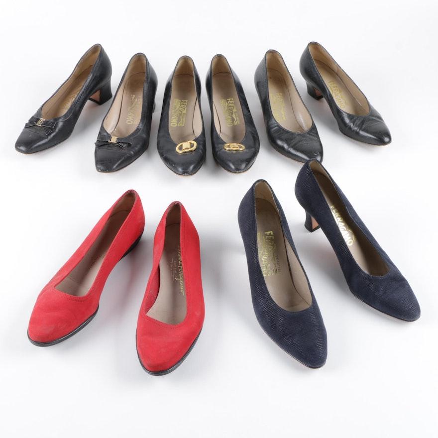 f68a18bb4f99 Women s Vintage Salvatore Ferragamo Shoes   EBTH