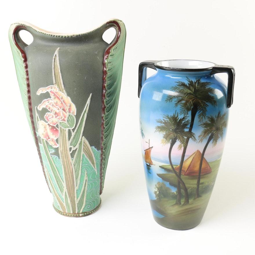 Japanese Ceramic Vases Ebth