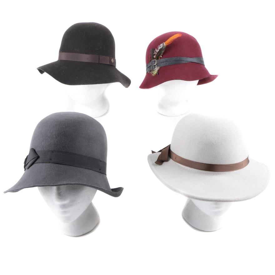 0d16d7e219020 Women s Goorin Bros. Wool Cloche Hats   EBTH