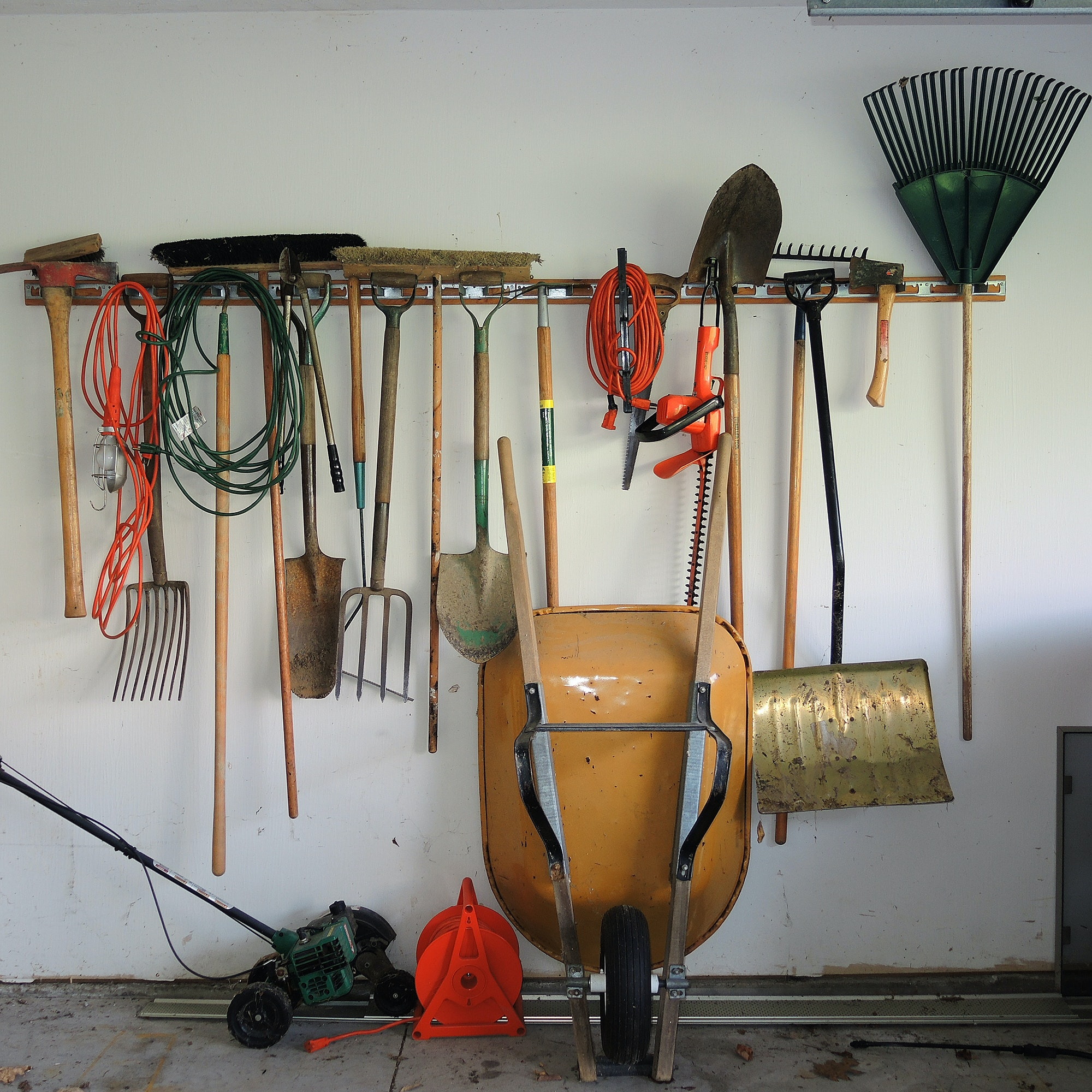 Garage and Garden Tools