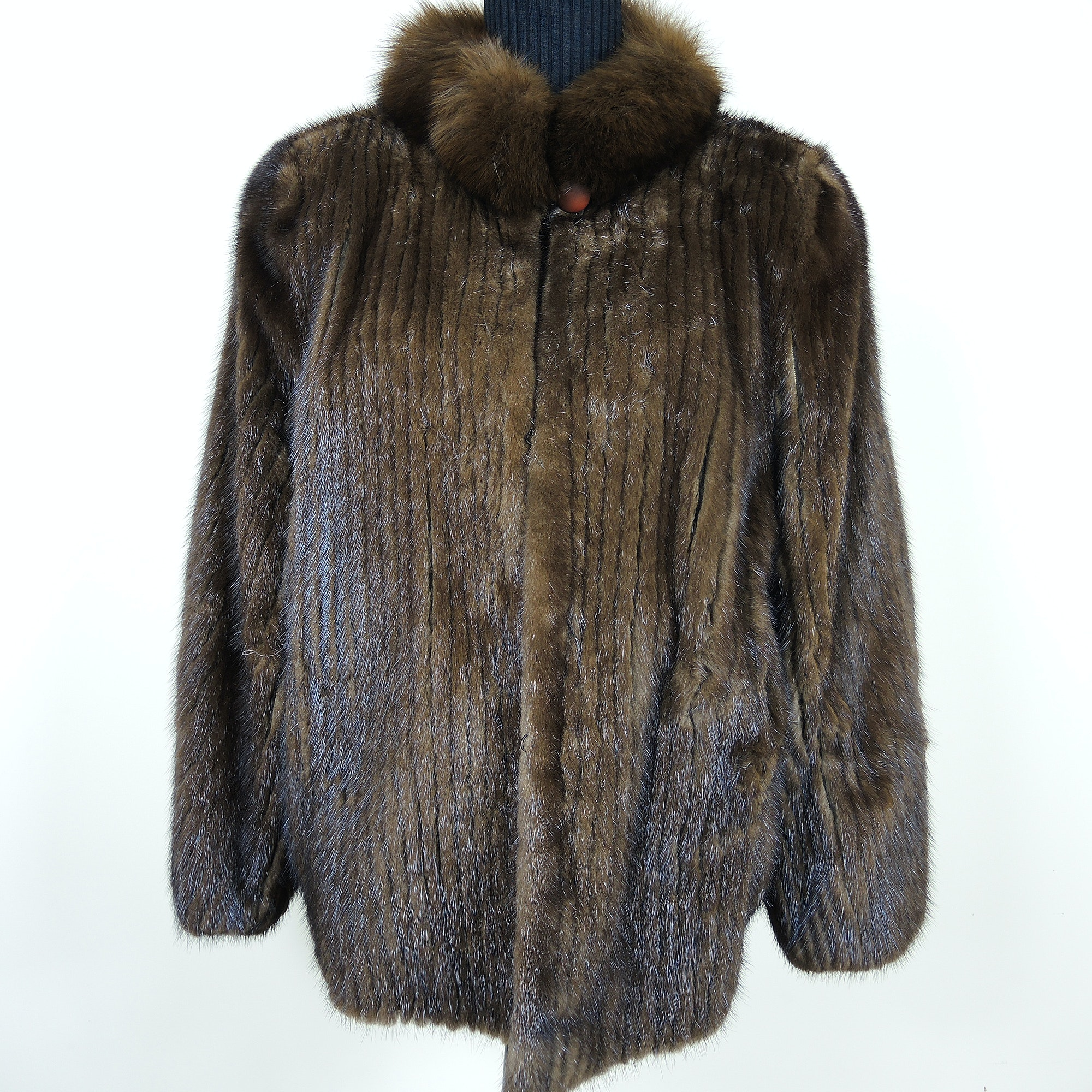 Natural Mink Fur Coat