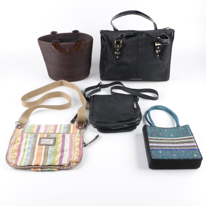 23f2a1177007 Collection of Handbags Including Helen Kaminski and BCBG Max Azria   EBTH